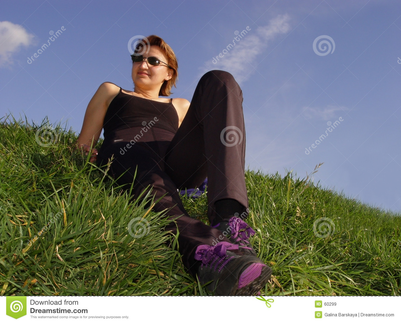 Enjoying life outdoor