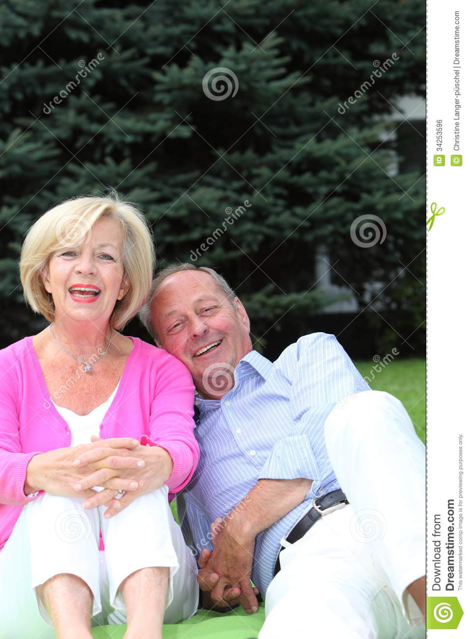 Enjoying Retirement Stock Photo Image Of Affection