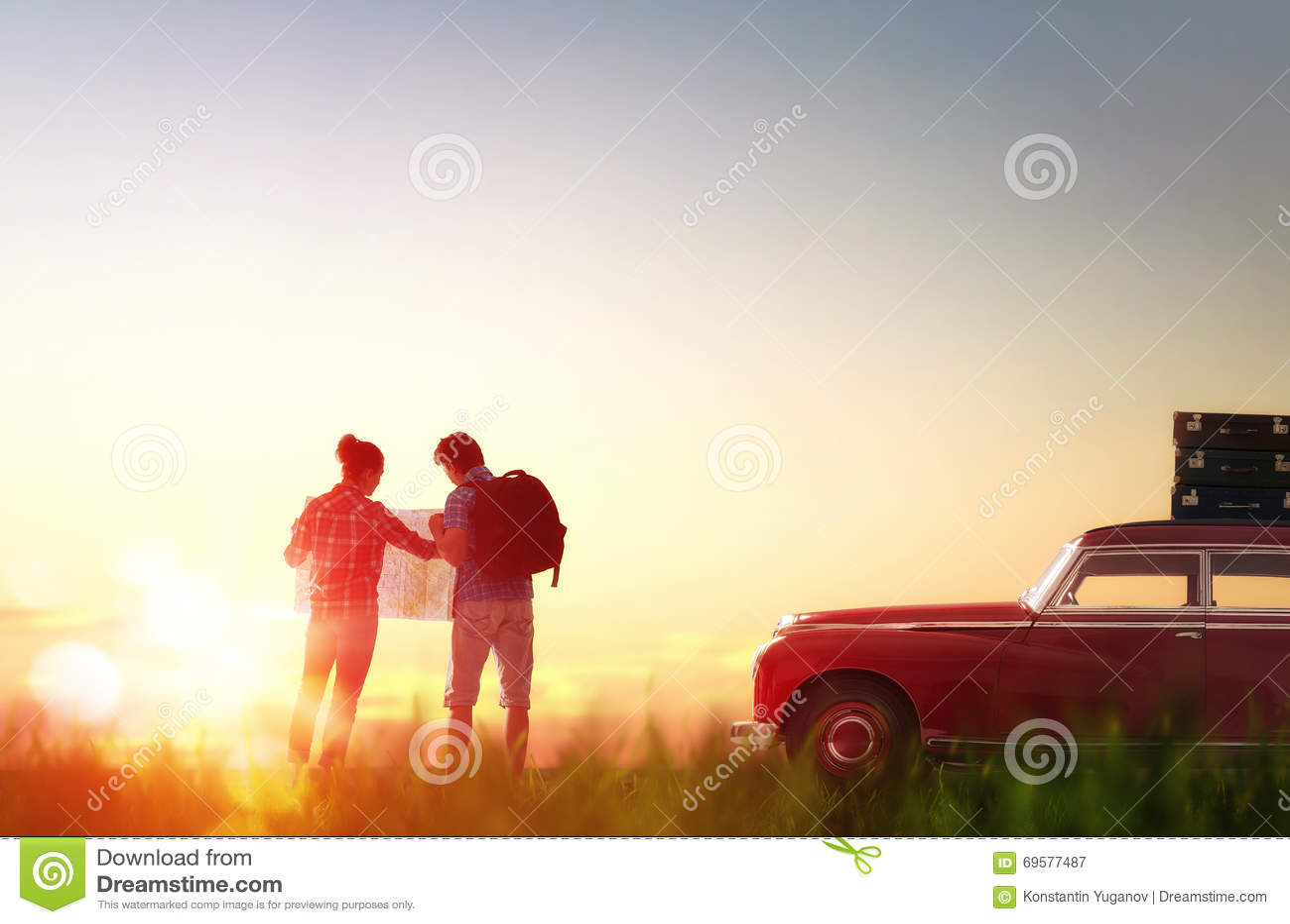 enjoying road trip stock image image of beautiful summer. Black Bedroom Furniture Sets. Home Design Ideas