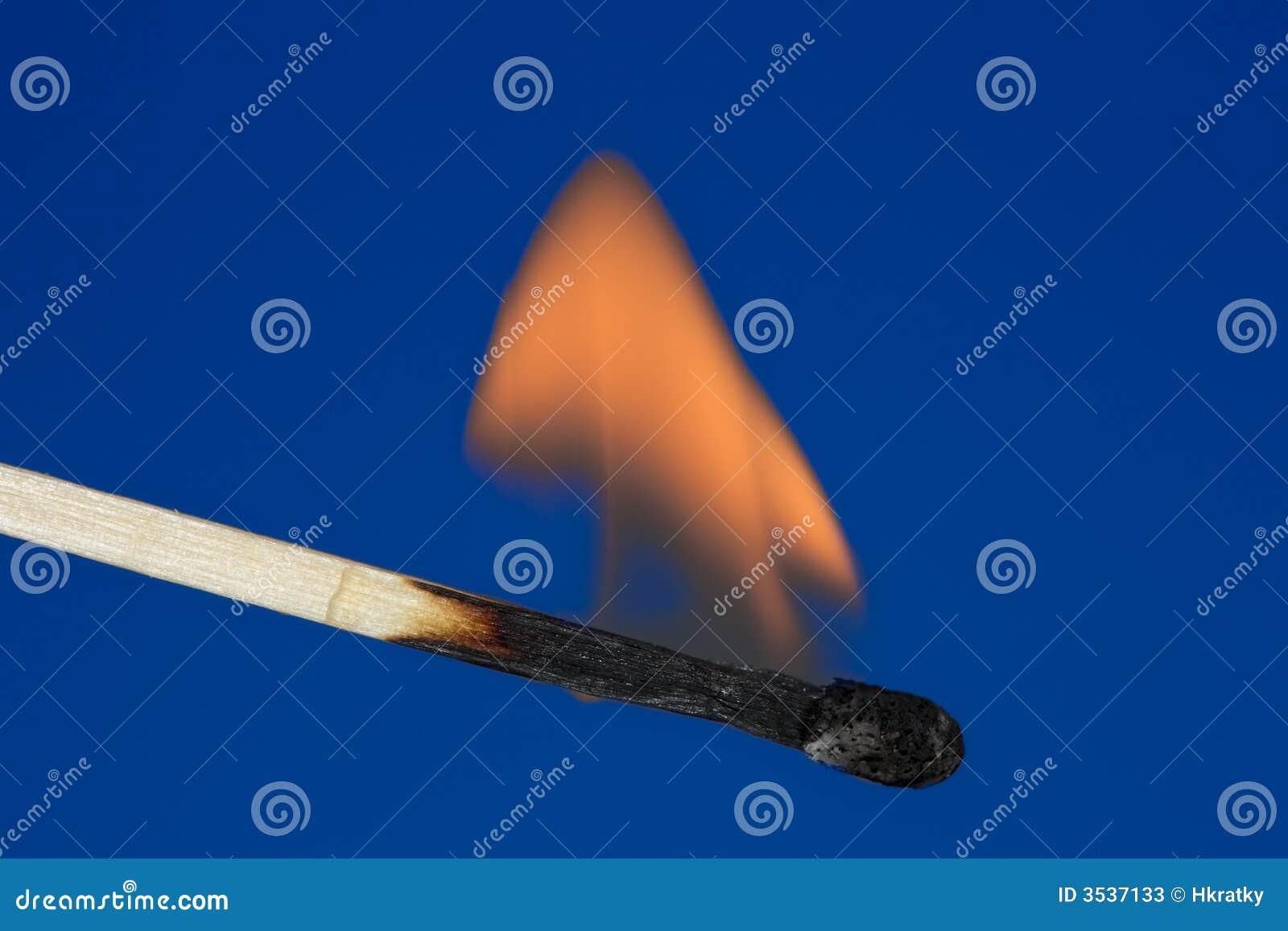 Enkel burning match