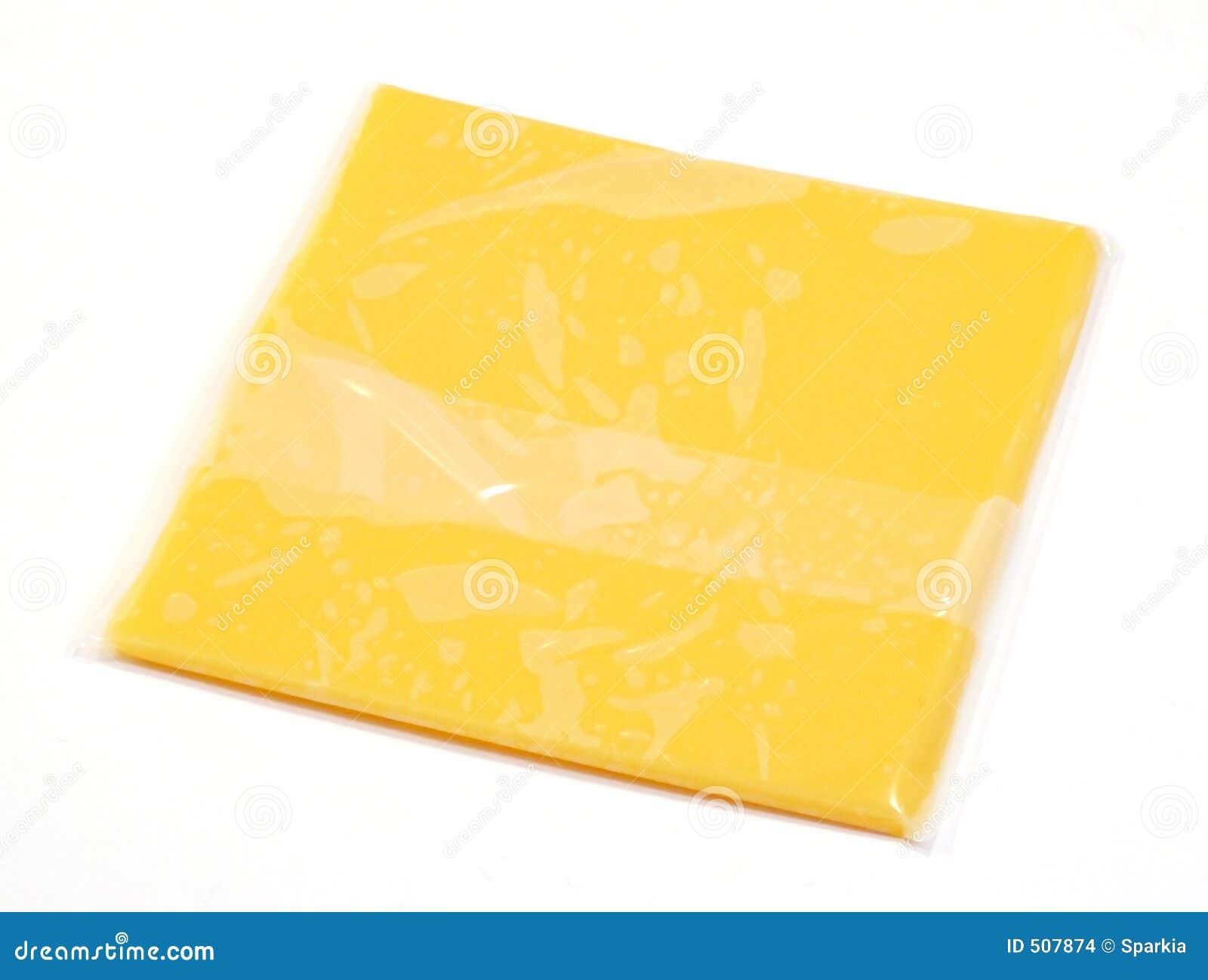Enkel skiva för amerikansk ost