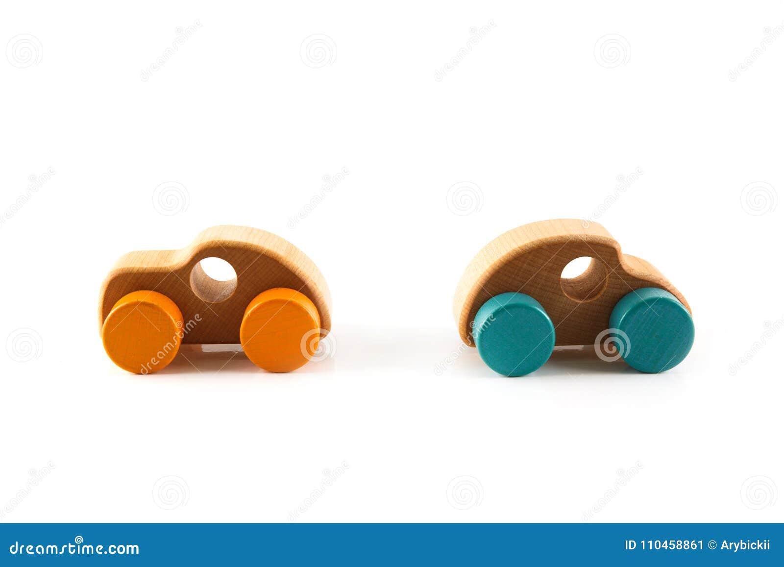 Enkel wood bil