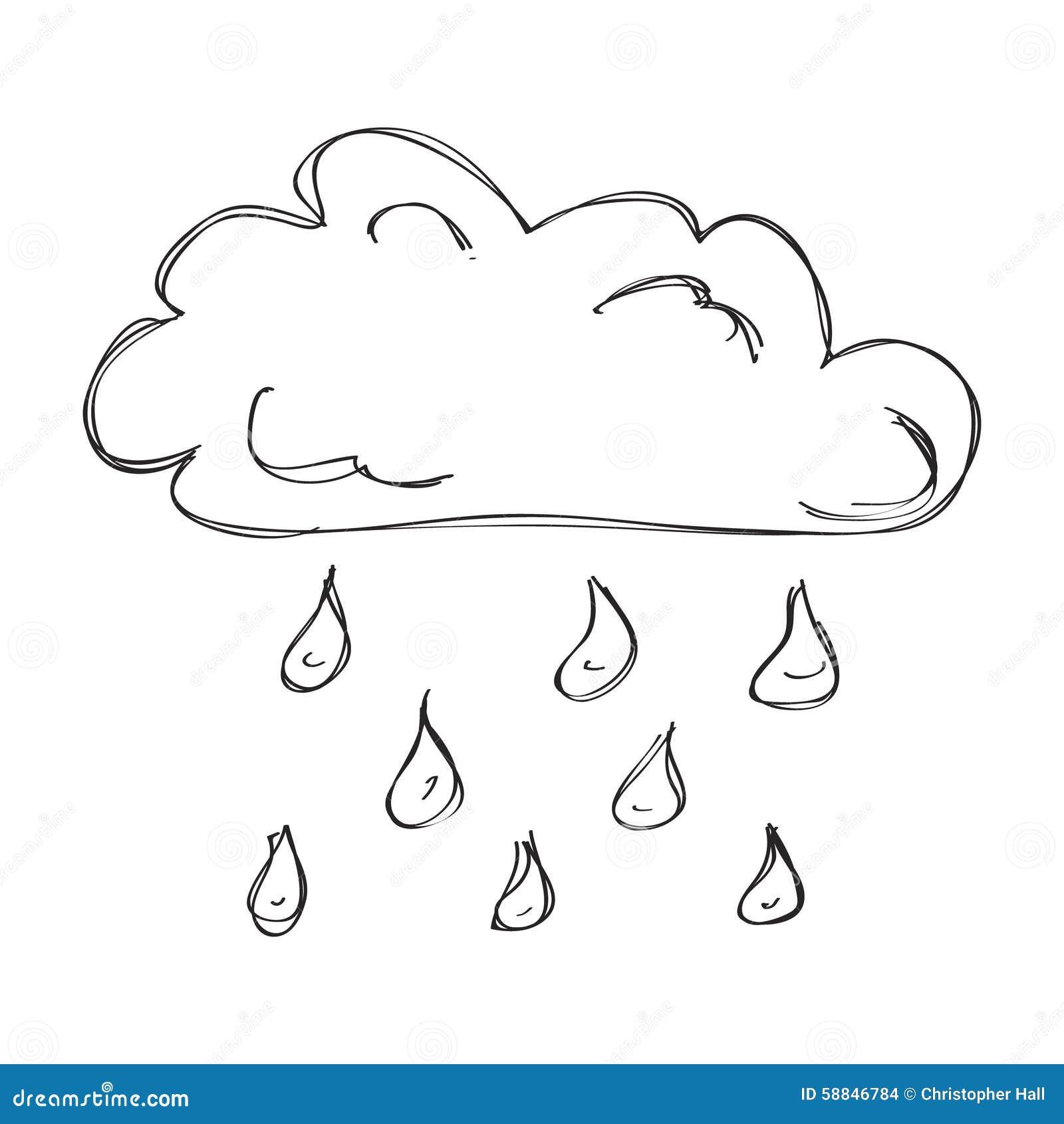 Enkelt raincloud