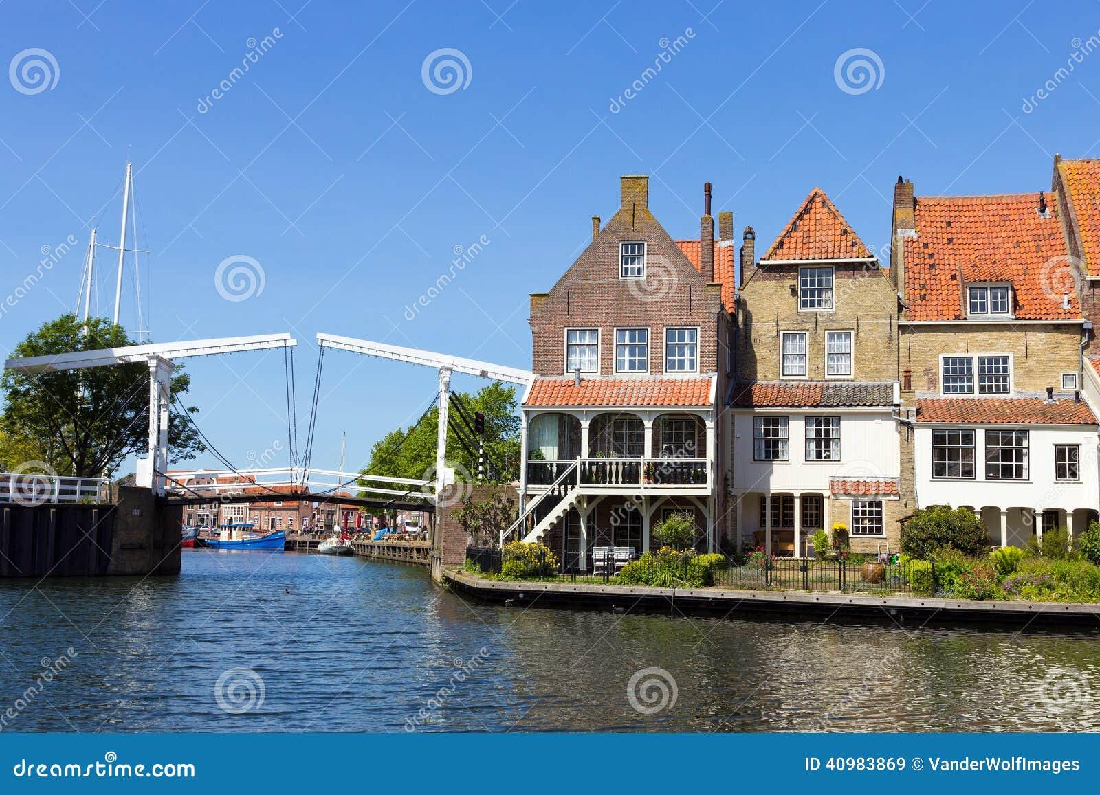 Enkhuizen l 39 olanda immagine stock immagine di for Architettura olandese