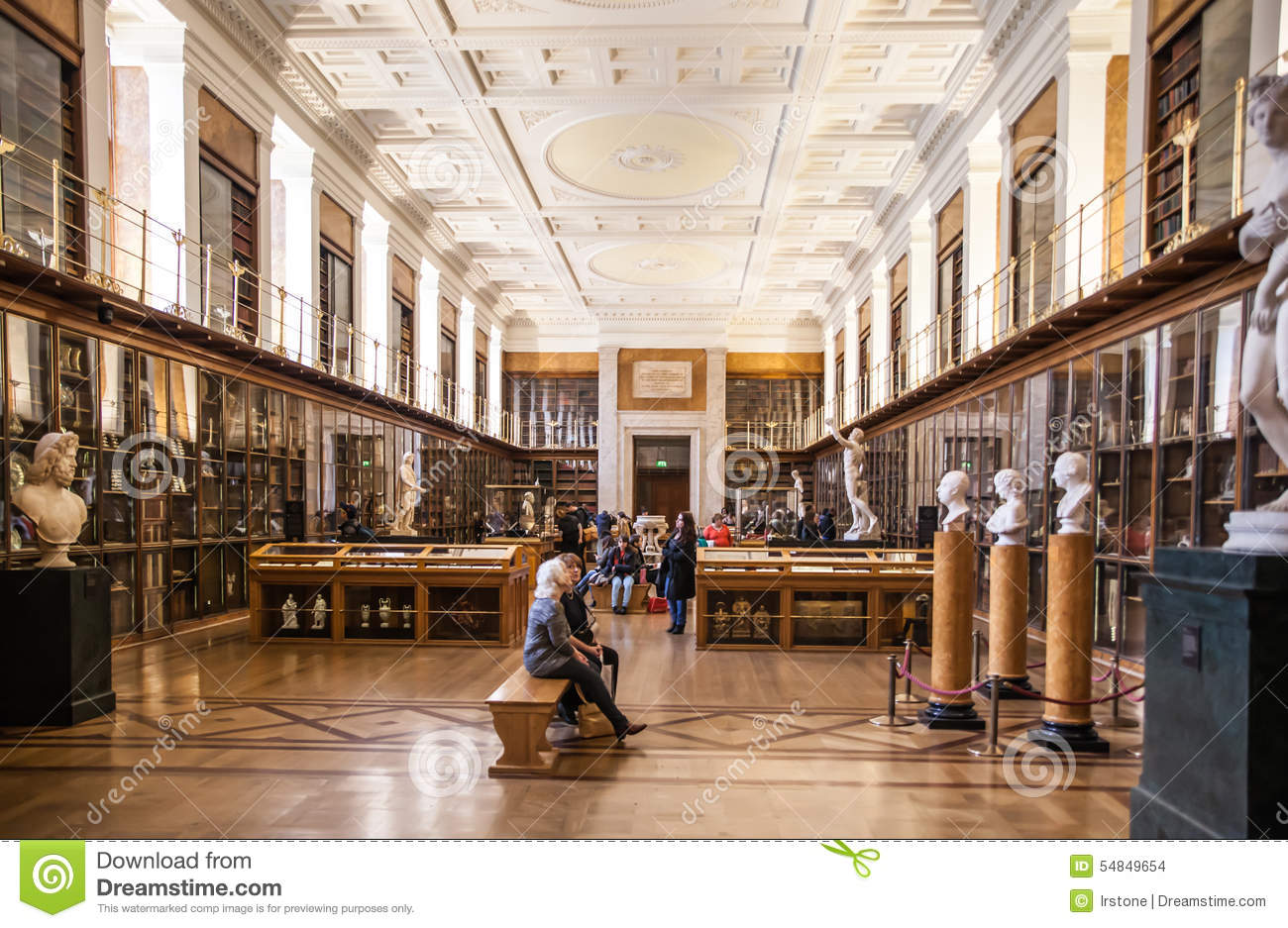 Enlightenment Gallery British Museum Editorial Stock Image