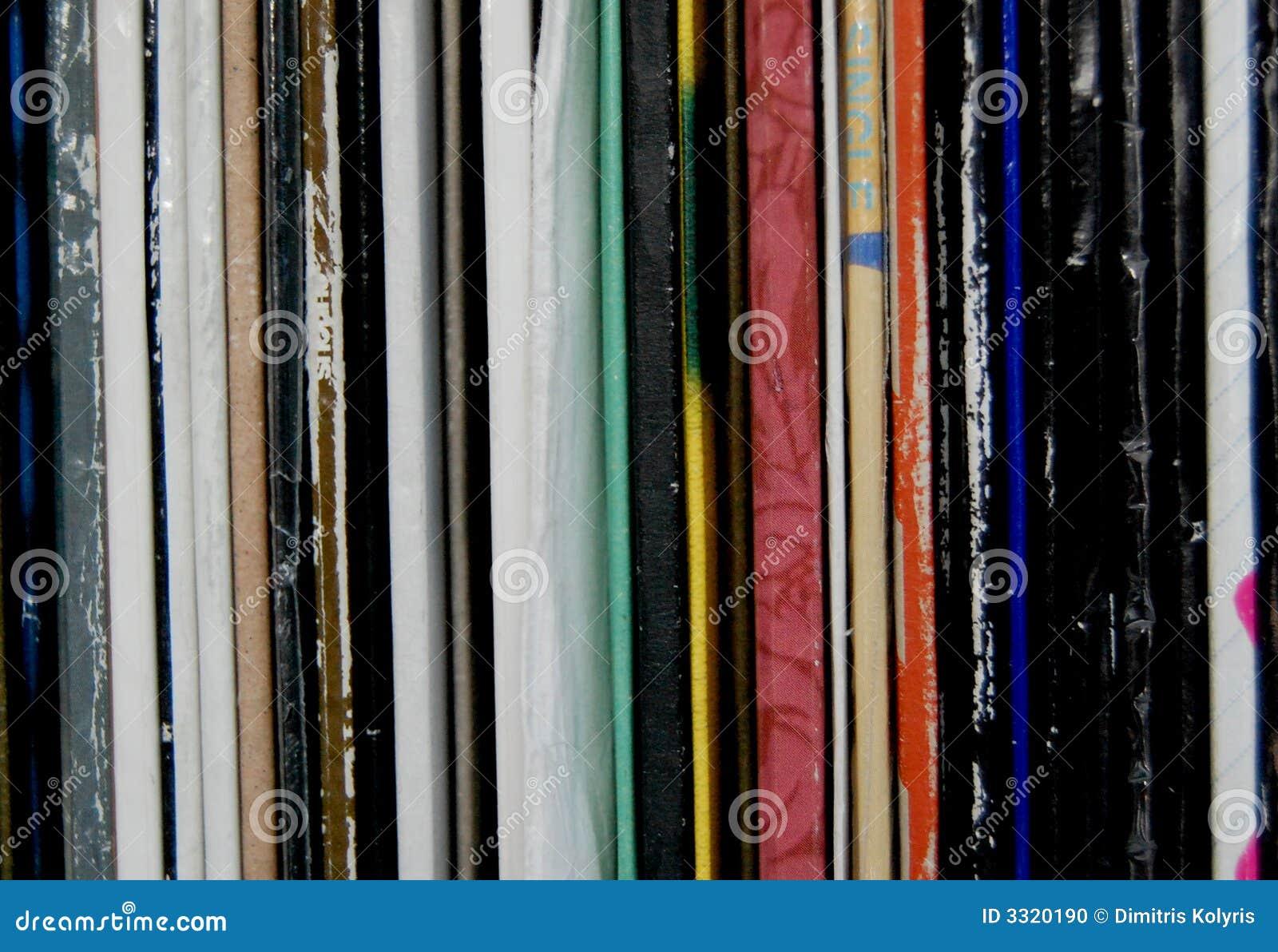Enregistrements de vinyle