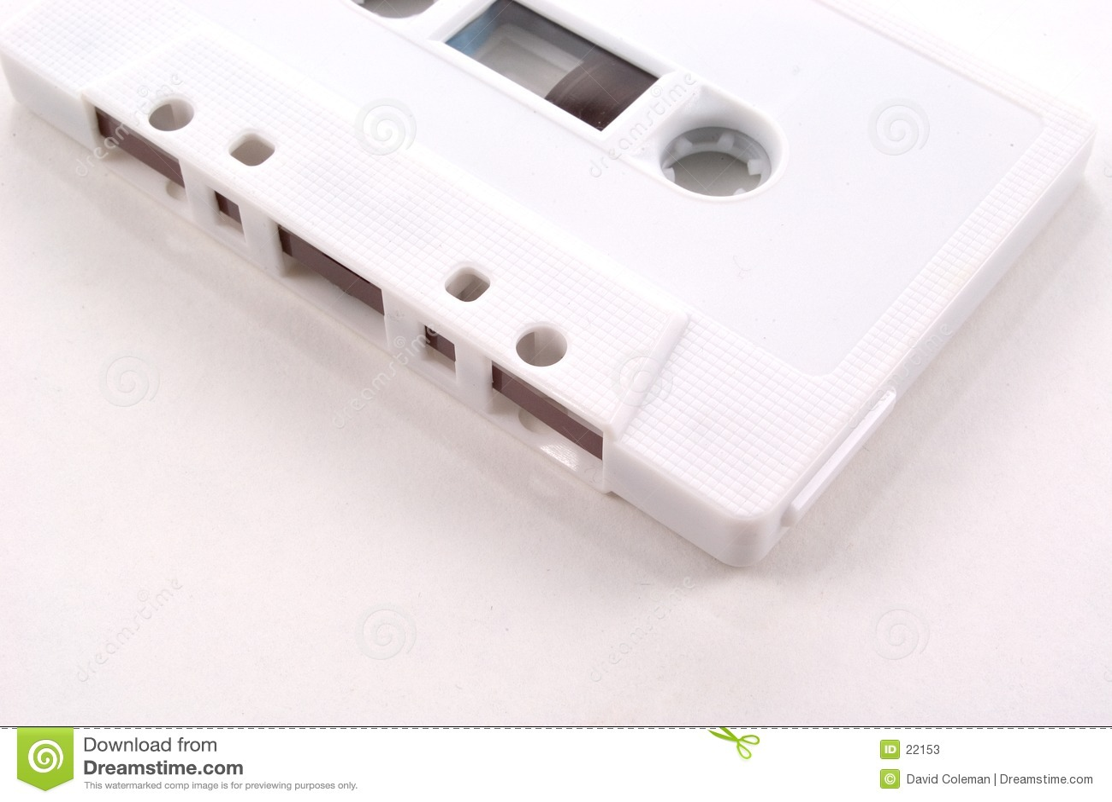 Enregistreur à cassettes - vue partielle