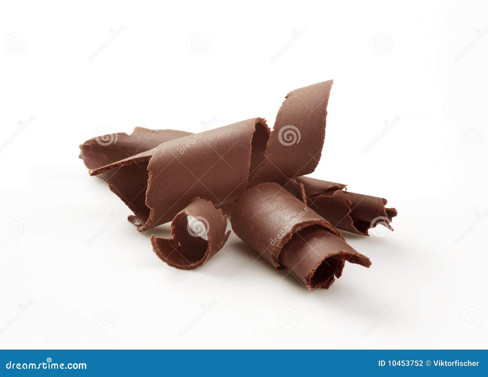 Enrollamientos del chocolate