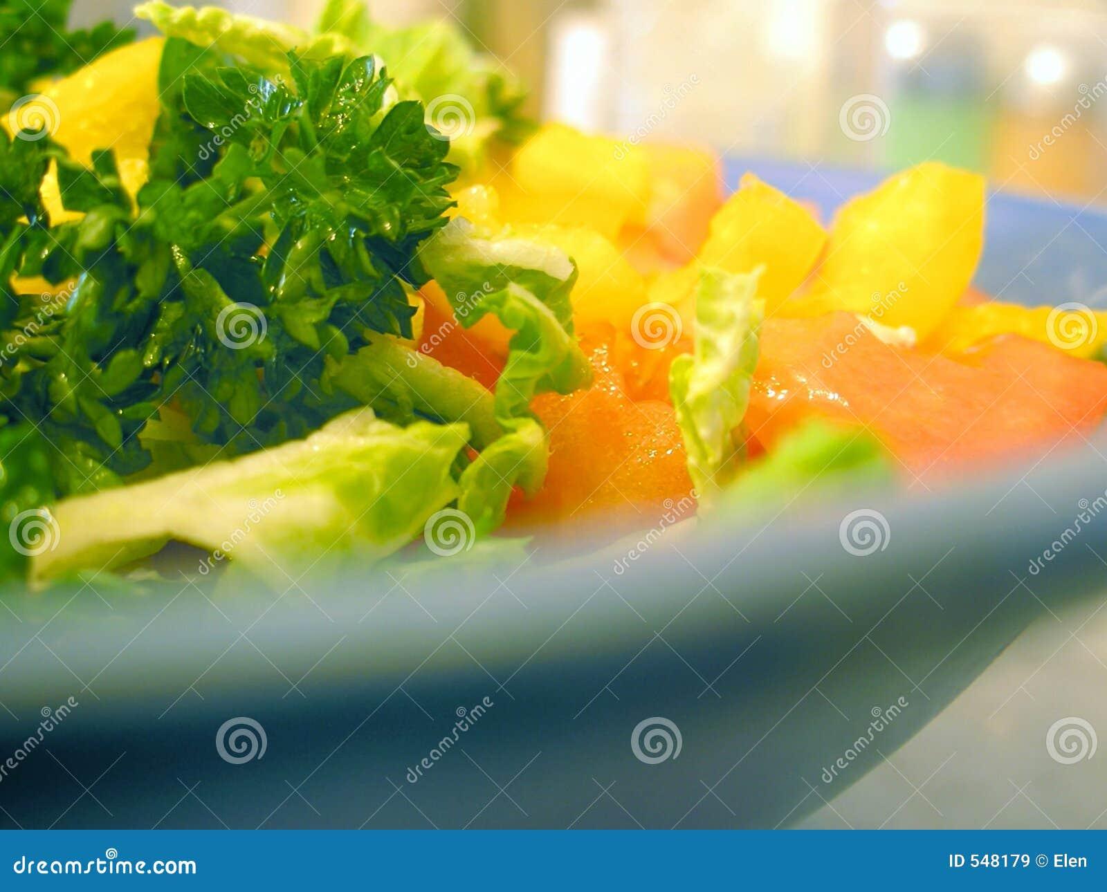 Ensalada asoleada dietética