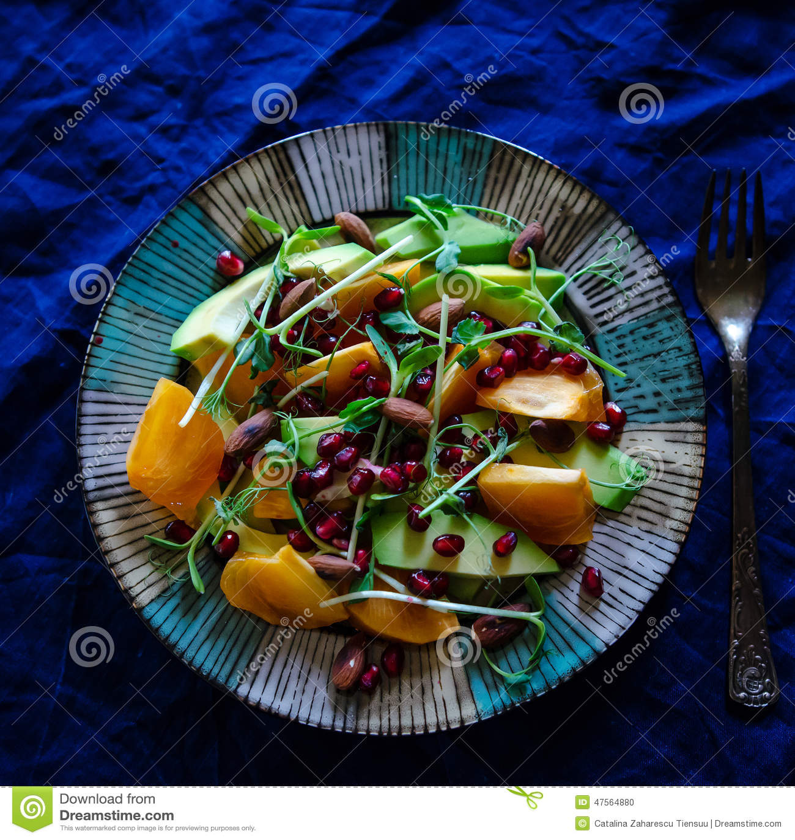 Ensalada cruda del vegano
