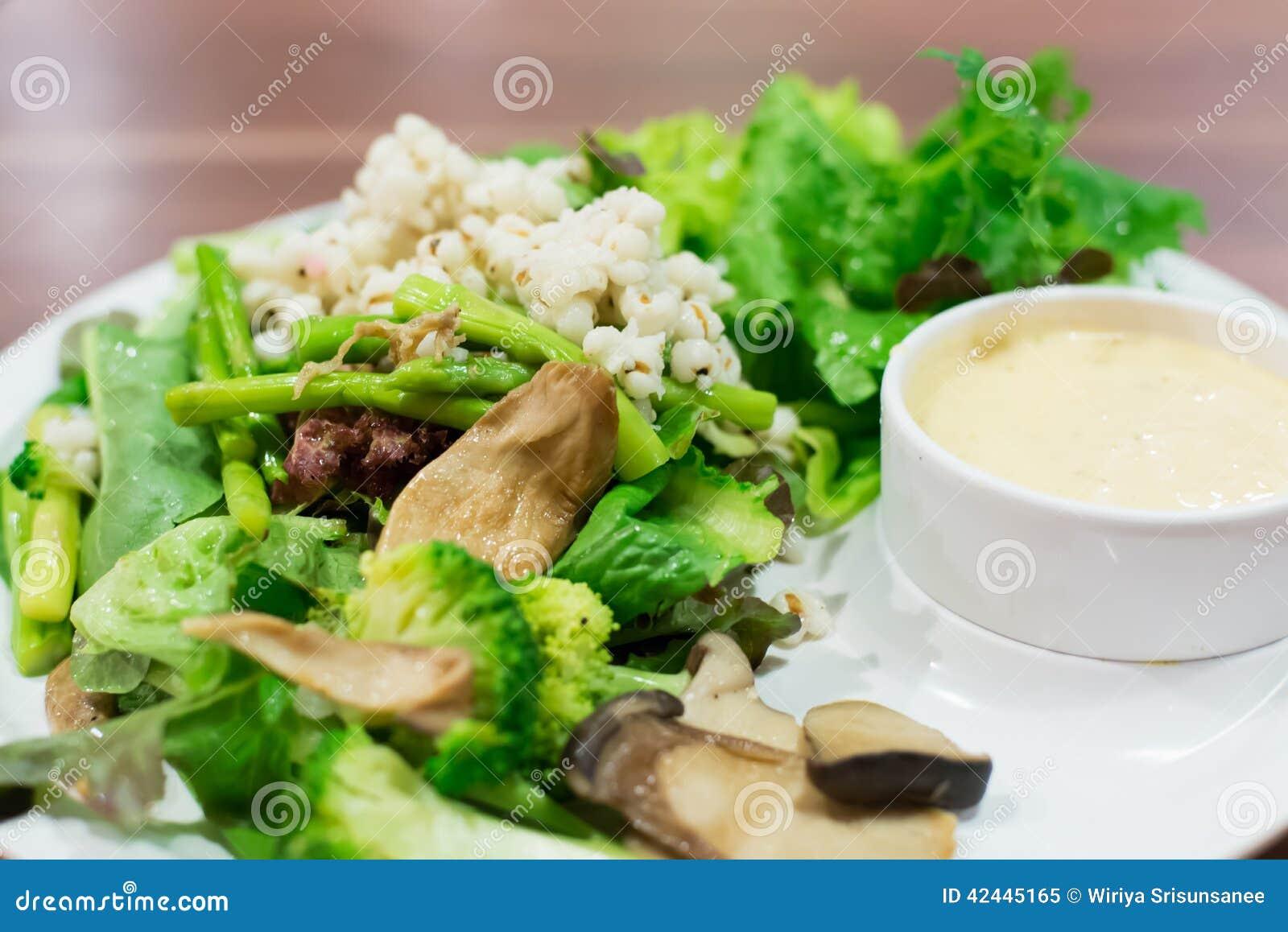 Ensalada de las verduras