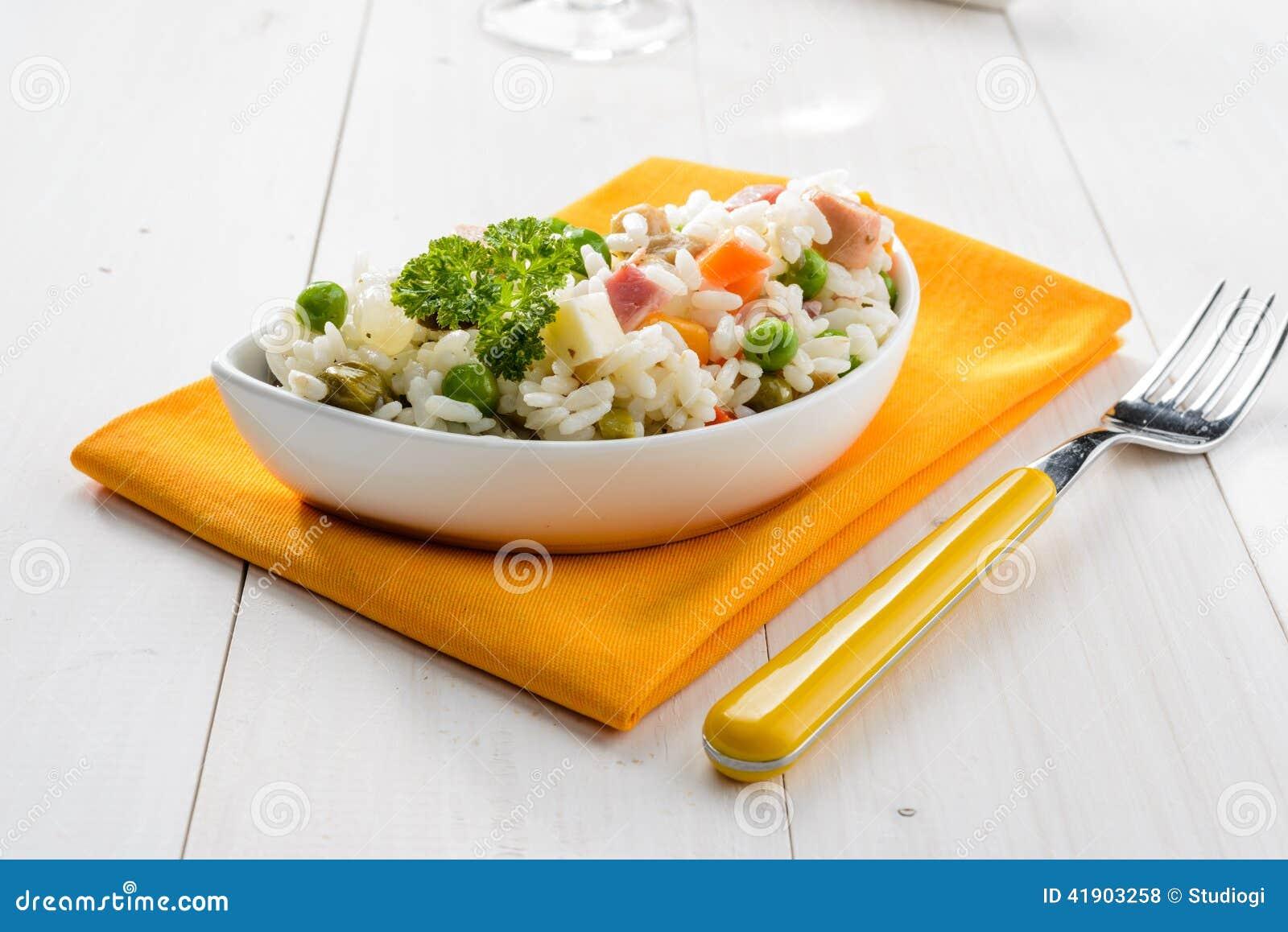 Ensalada del arroz