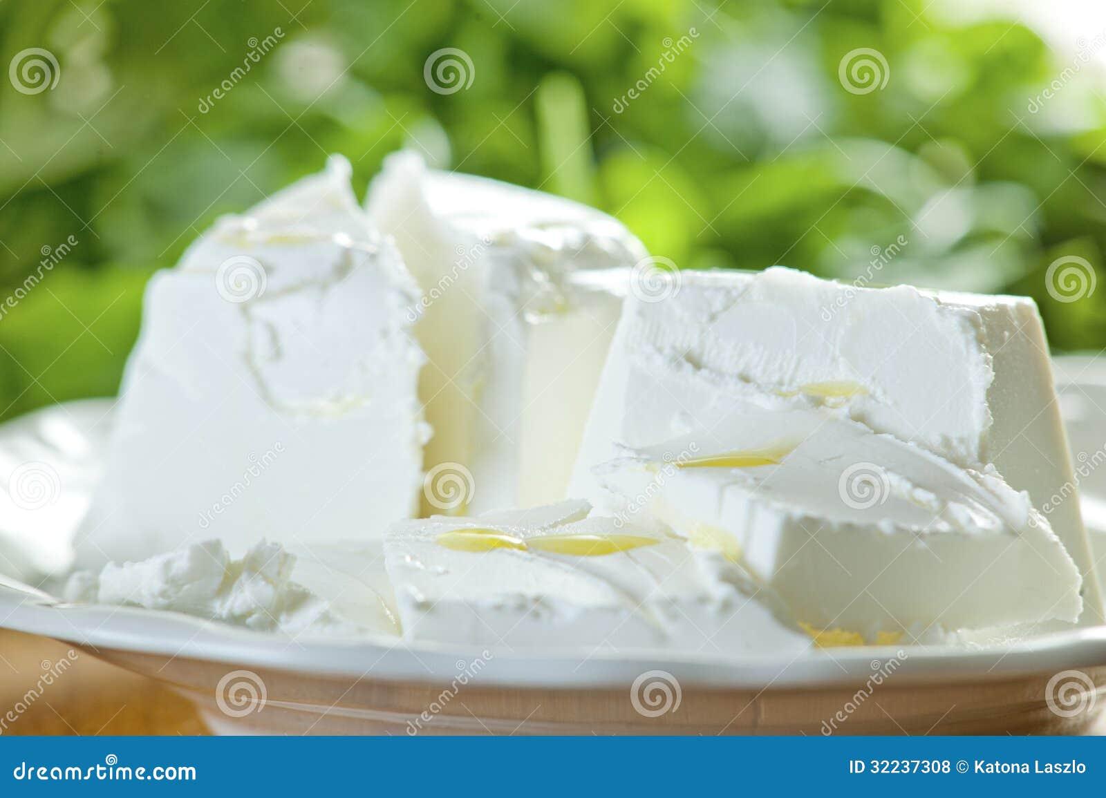 Ensalada del queso de cabra