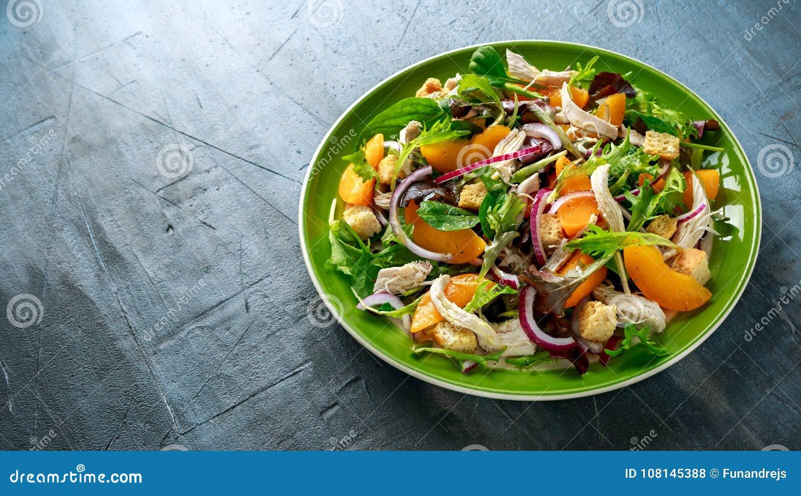 Dieta pollo y melocoton