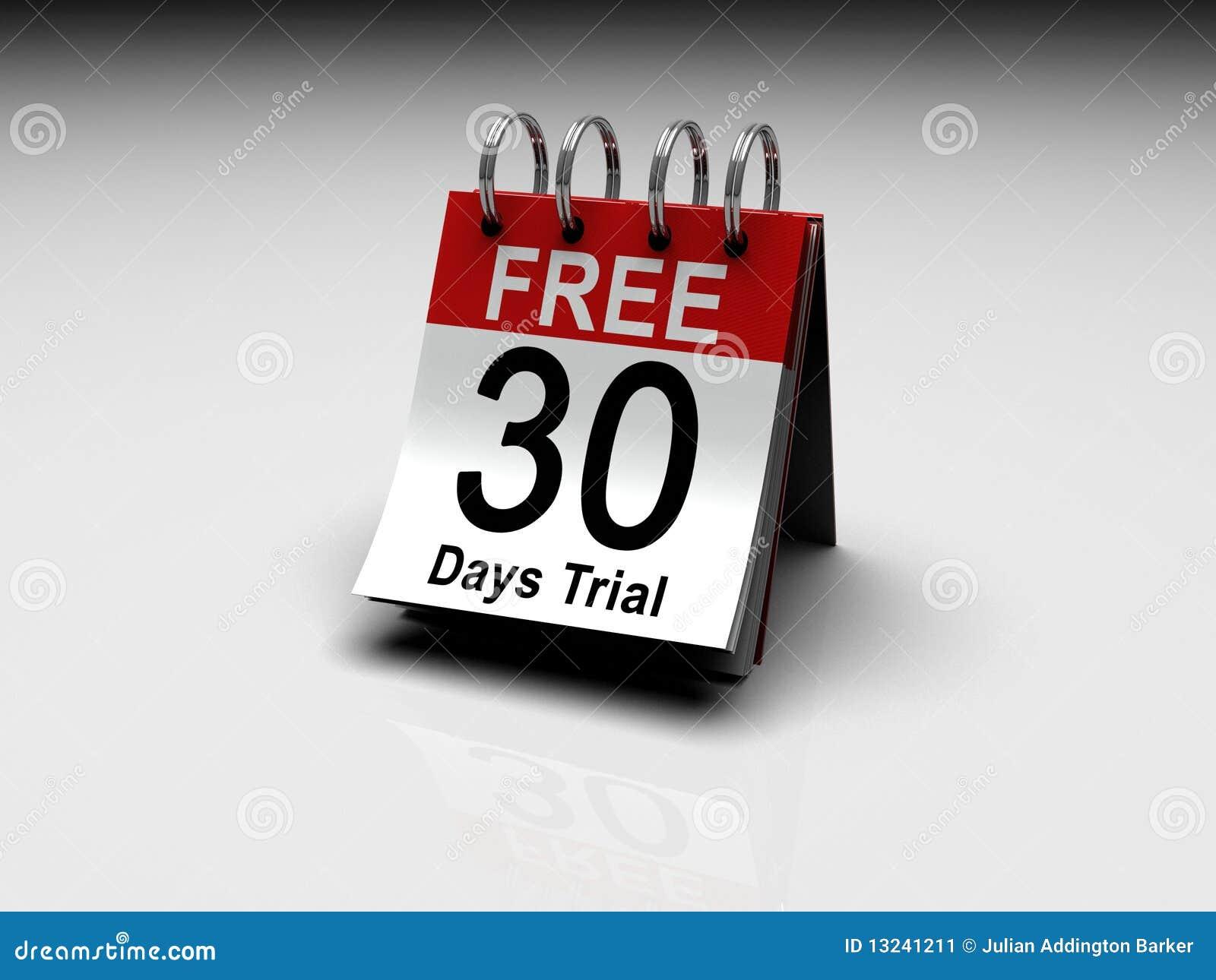 Ensayo libre de 30 días