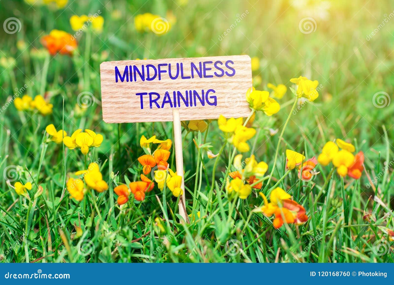 Enseigne de formation de Mindfulness