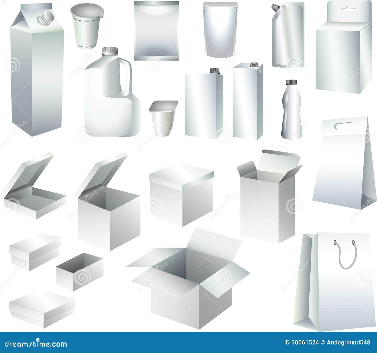 Calibres de empaquetage de boîtes de papier et de bouteilles