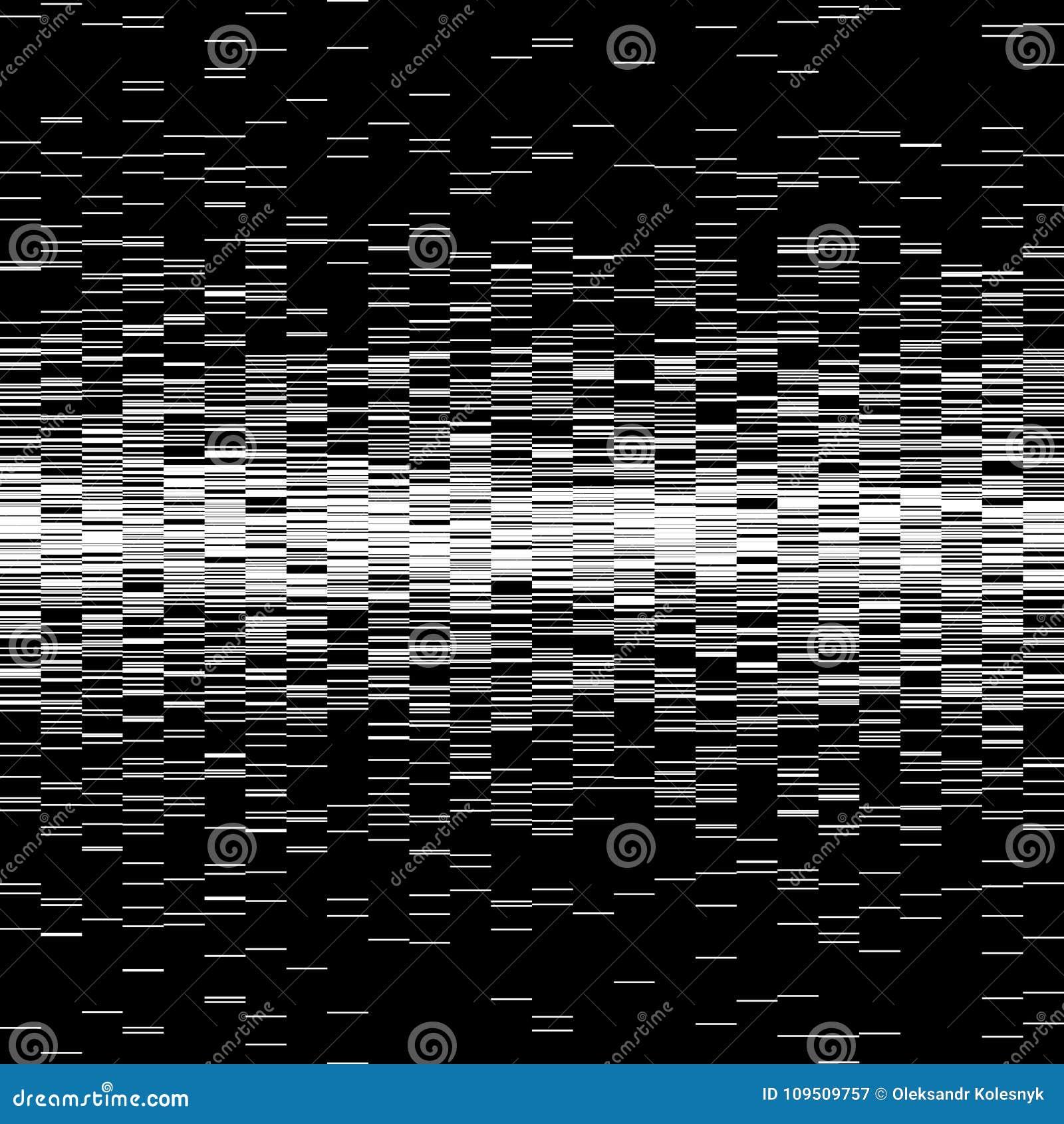 Ensemble d éléments de problème Calibres d erreur d écran d ordinateur Conception d abrégé sur bruit de pixel de Digital Problème