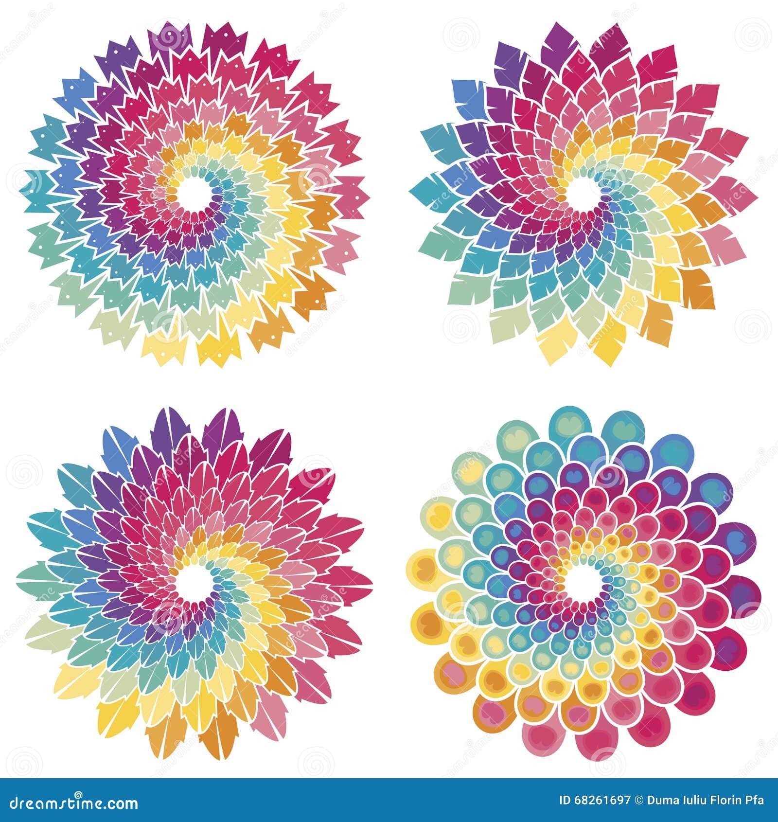Ensemble d étoiles en spirale