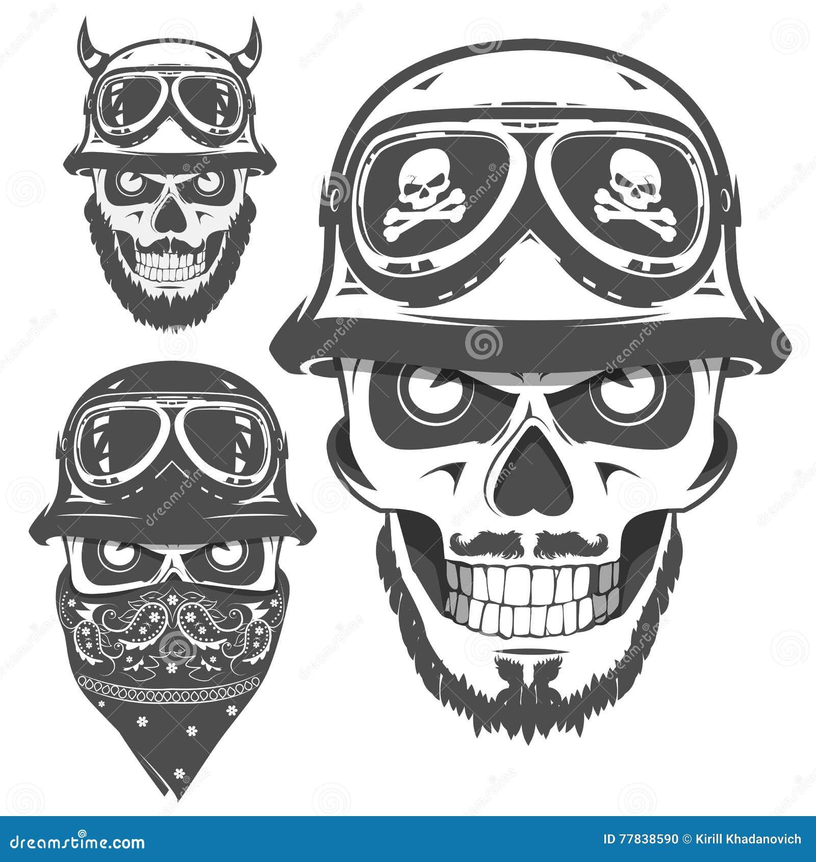 Ensemble D Emblemes De Logo De Tatouage Et De Copies De Style De
