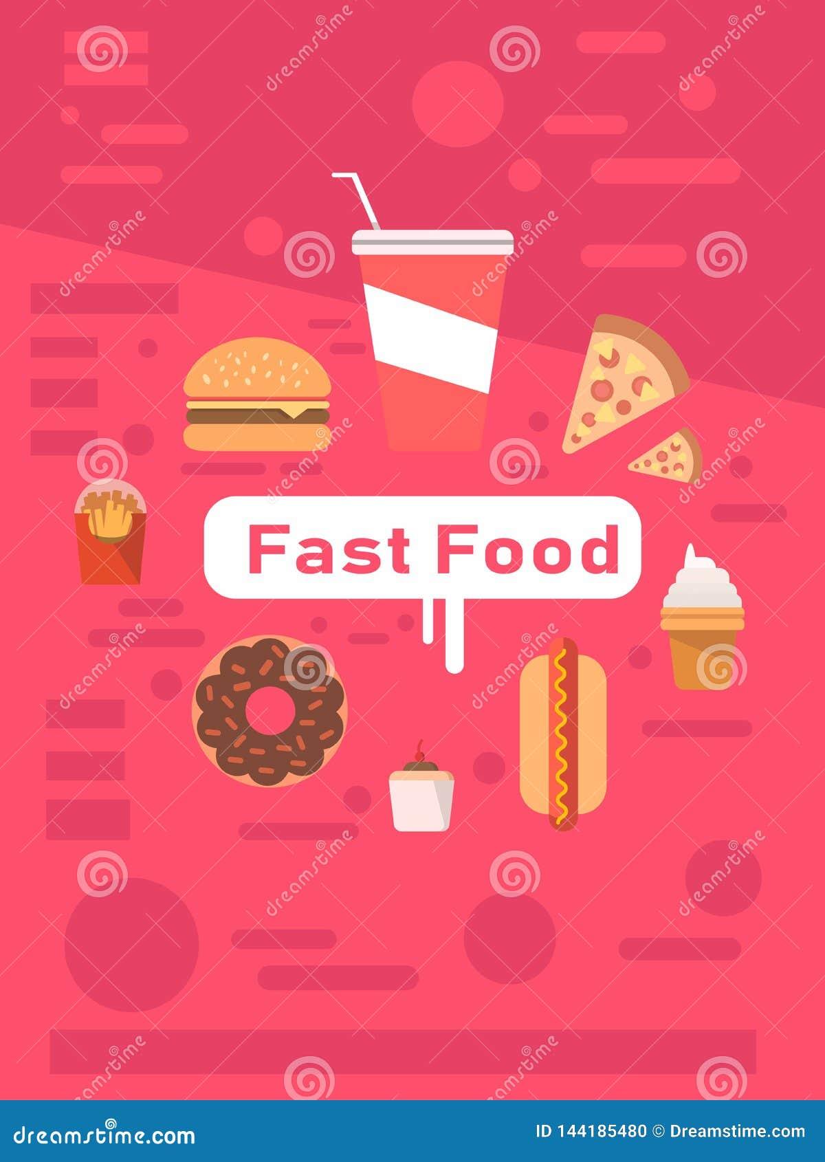 Ensemble d icônes d aliments de préparation rapide Prêt-à-manger