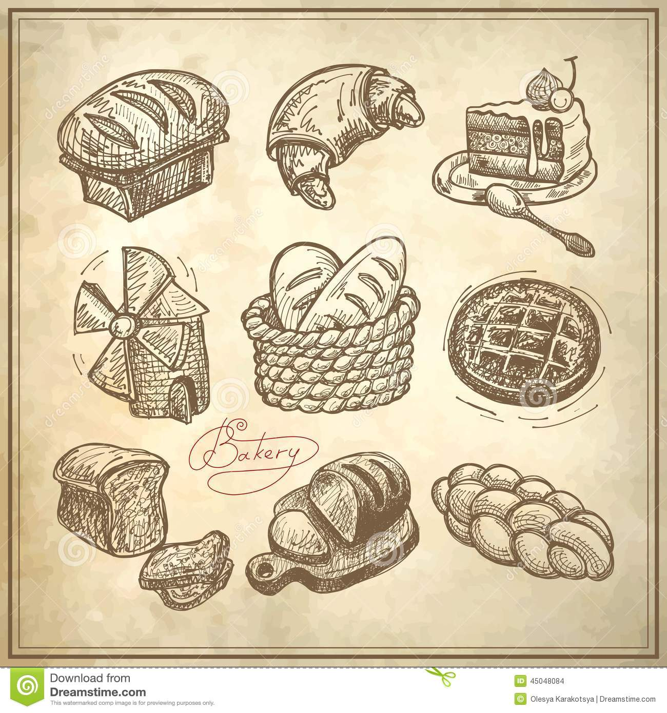 1000 images about boulangerie on pinterest patisserie - Dessin boulangerie patisserie ...
