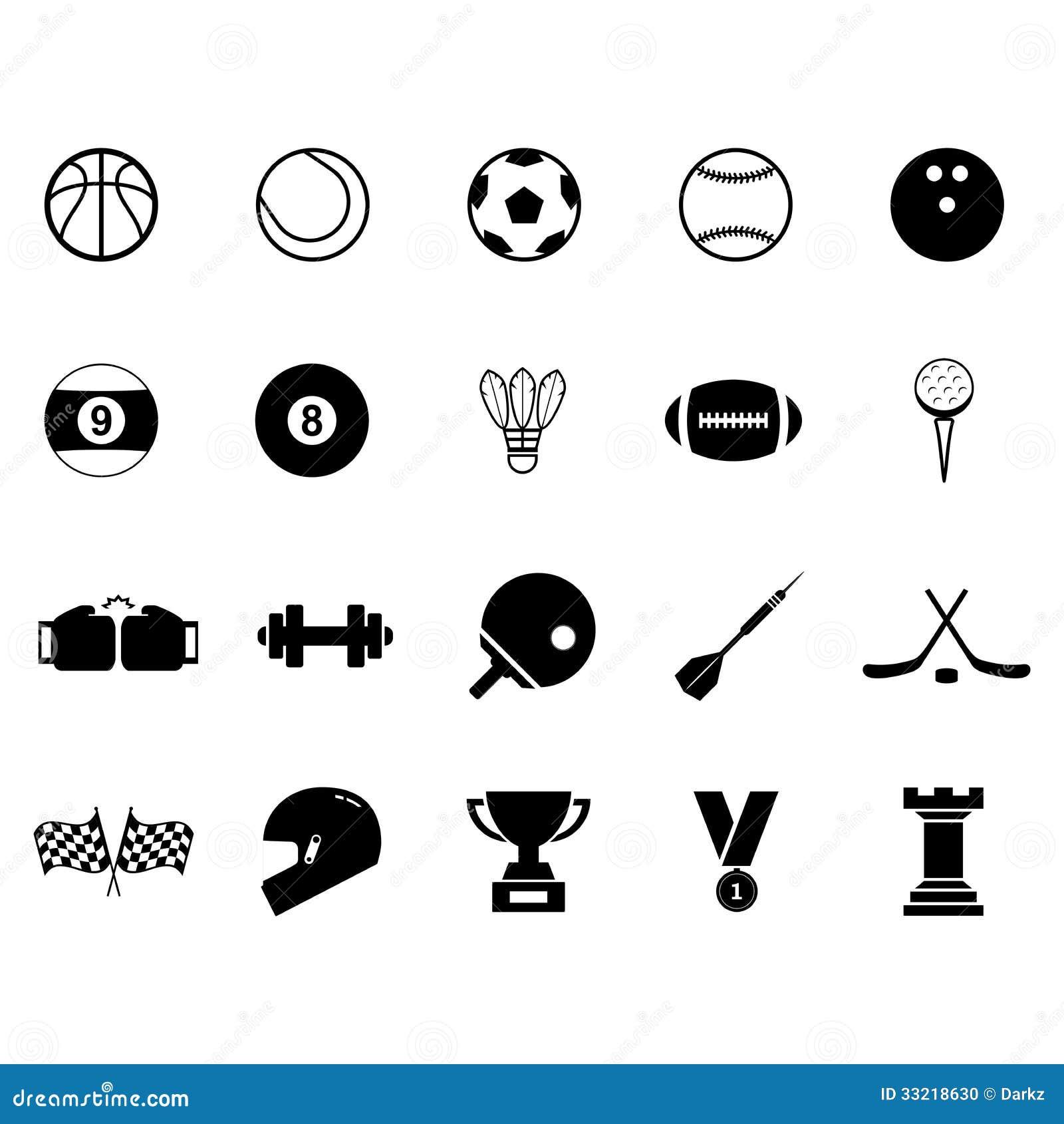 Ensemble D Ic 244 Ne De Sport Photo Stock Image 33218630