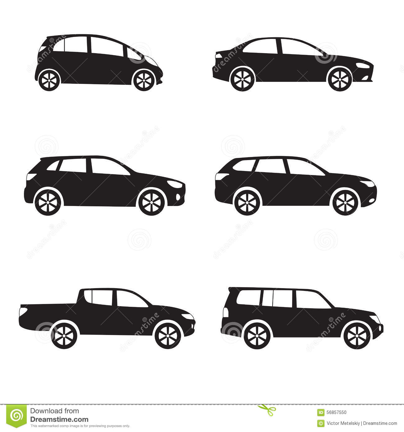 Illustration Stock Ensemble D Ic Ne De Voiture Ou De Vhicule Forme Diffrente De Voiture De Vecteur Image56857550 on sports car illustration