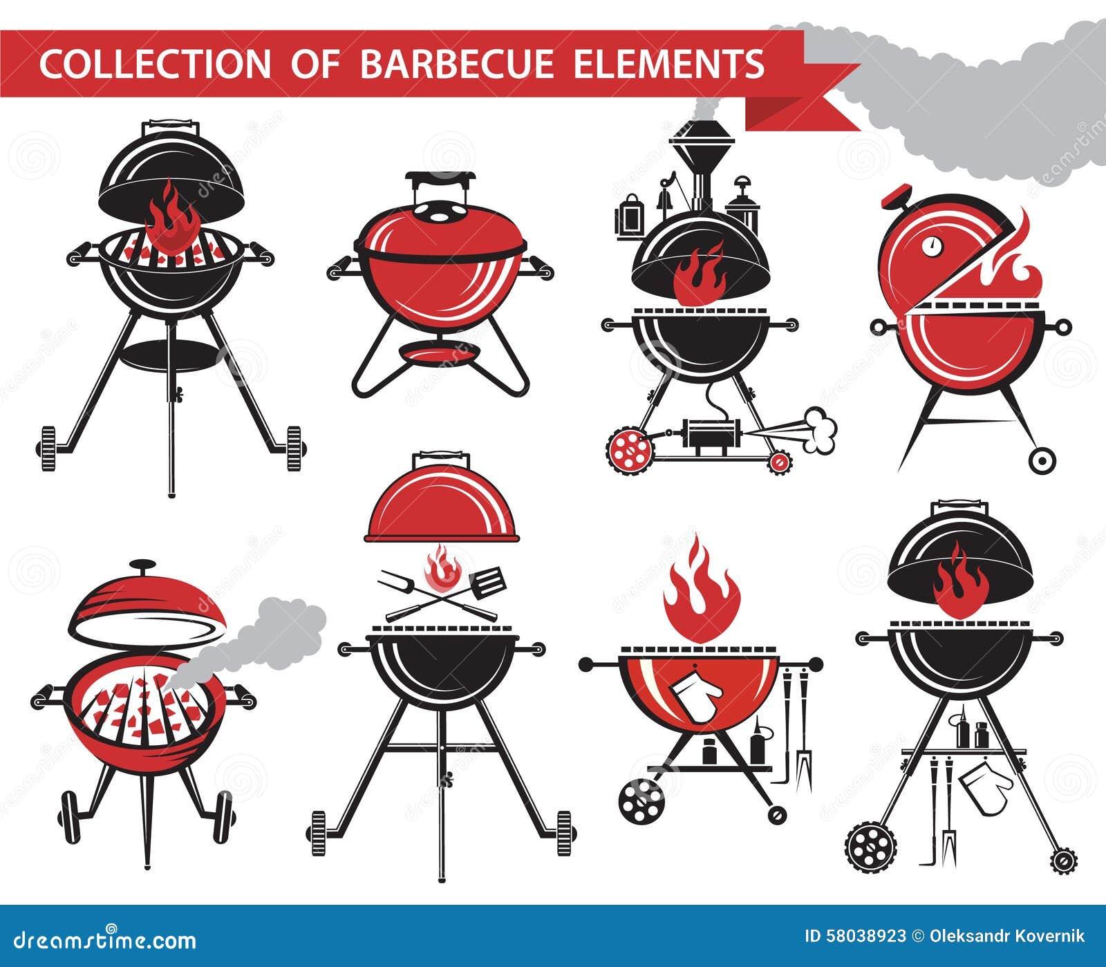 Ensemble de barbecue