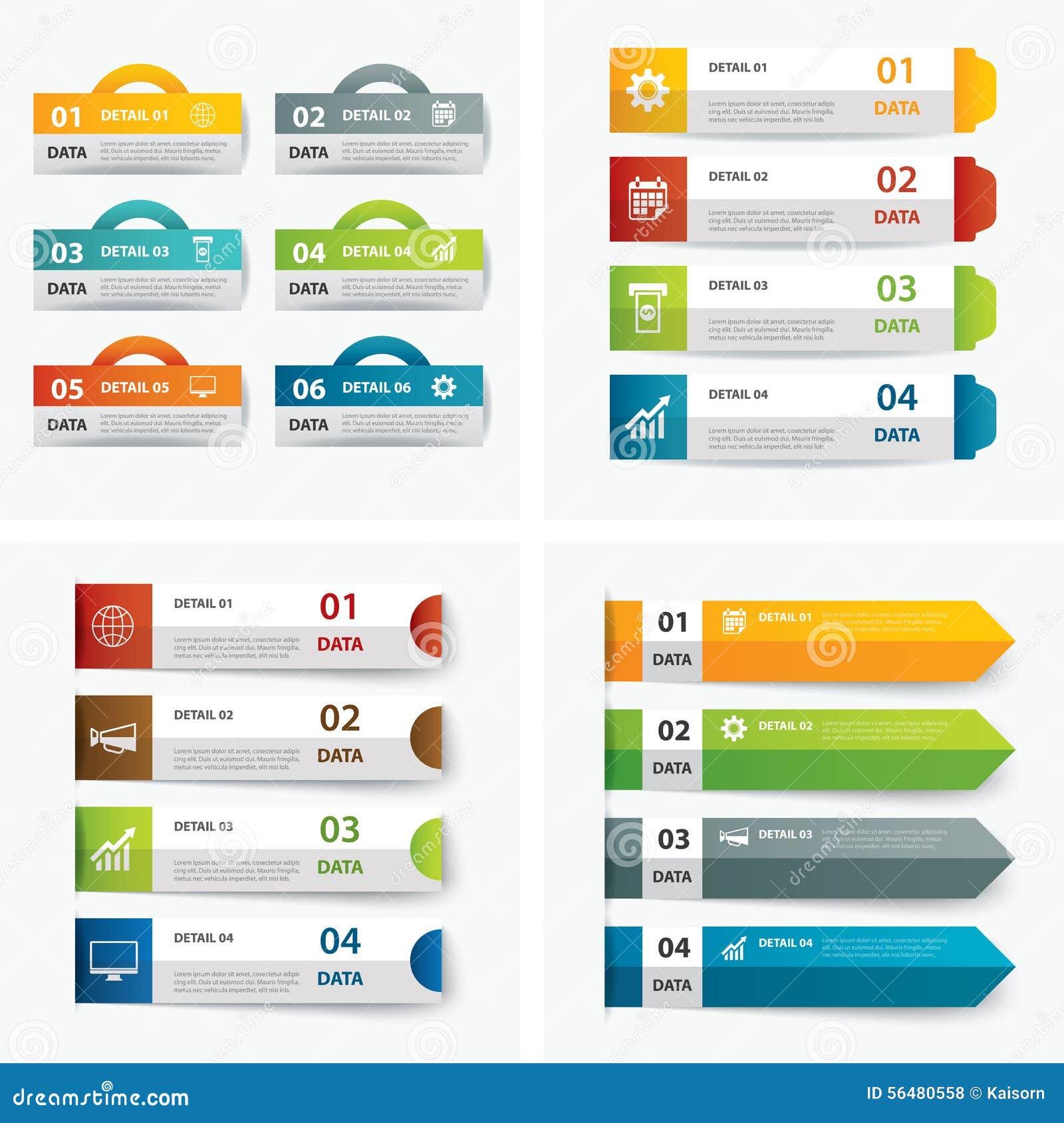 Ensemble de calibres infographic