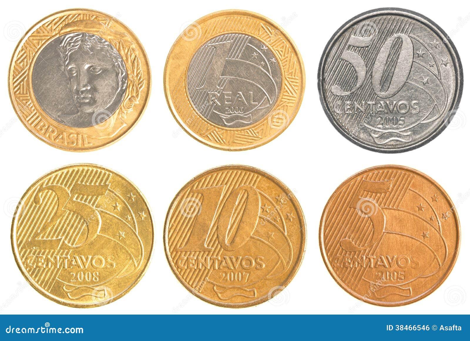 piece de monnaie du bresil