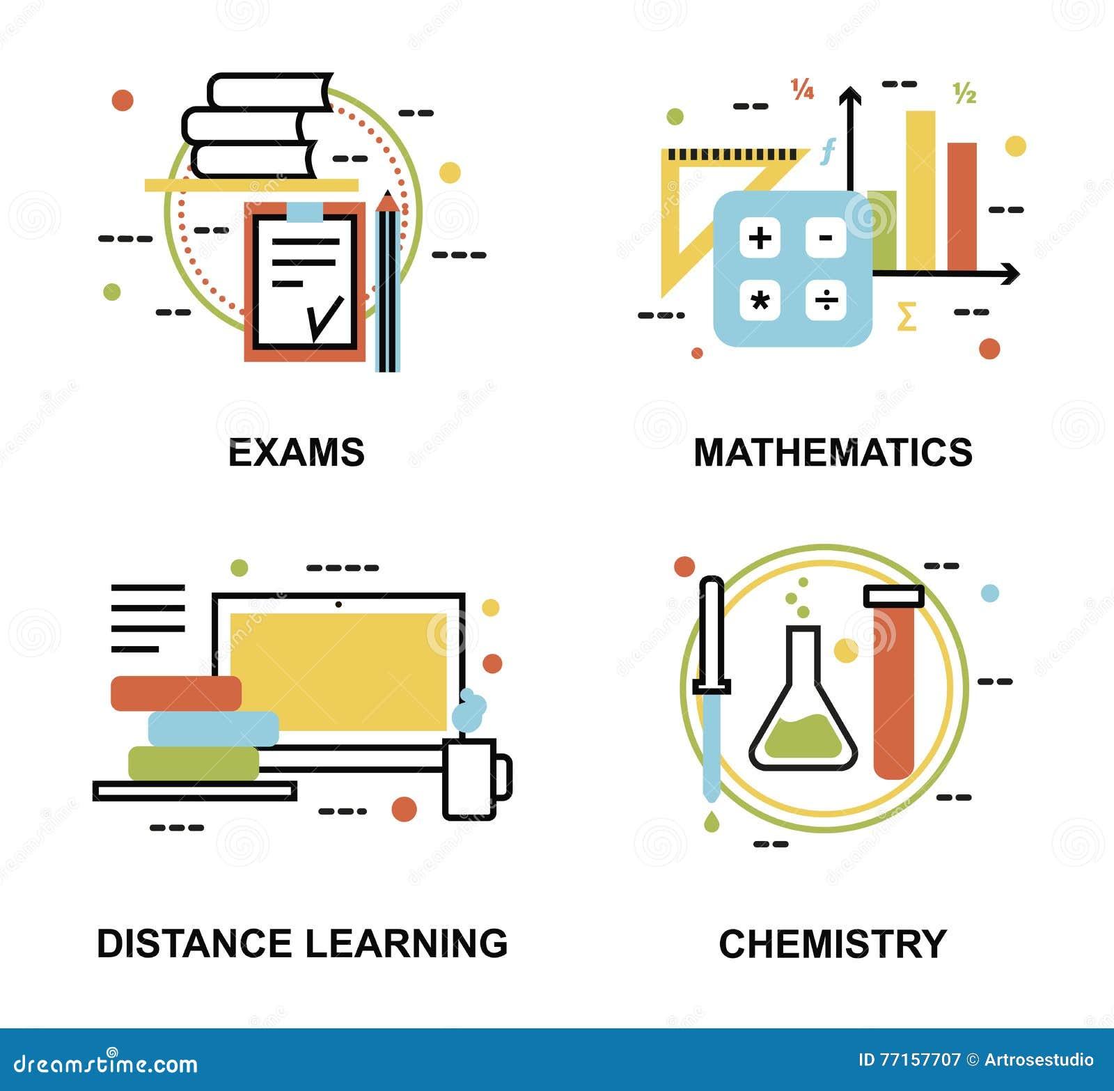 Ensemble de concepts d éducation, d examens et de processus d enseignement à distance