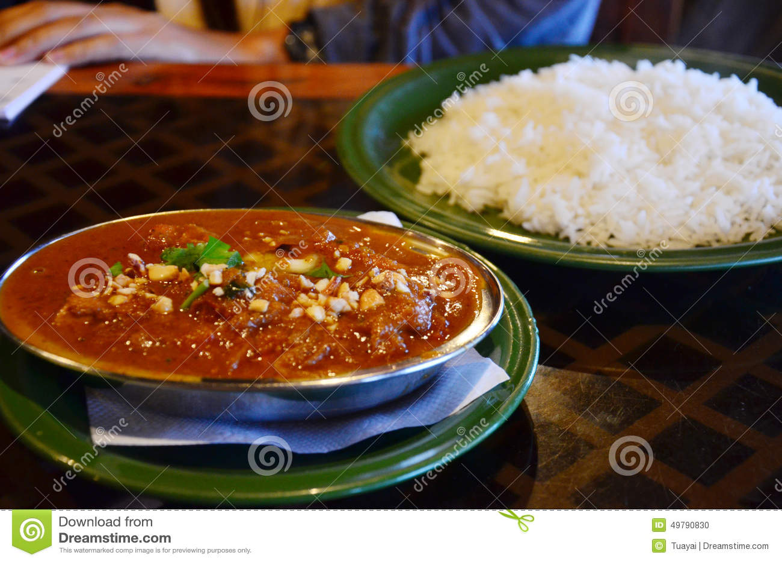 ensemble de cuisine du népal photo stock - image: 49790830