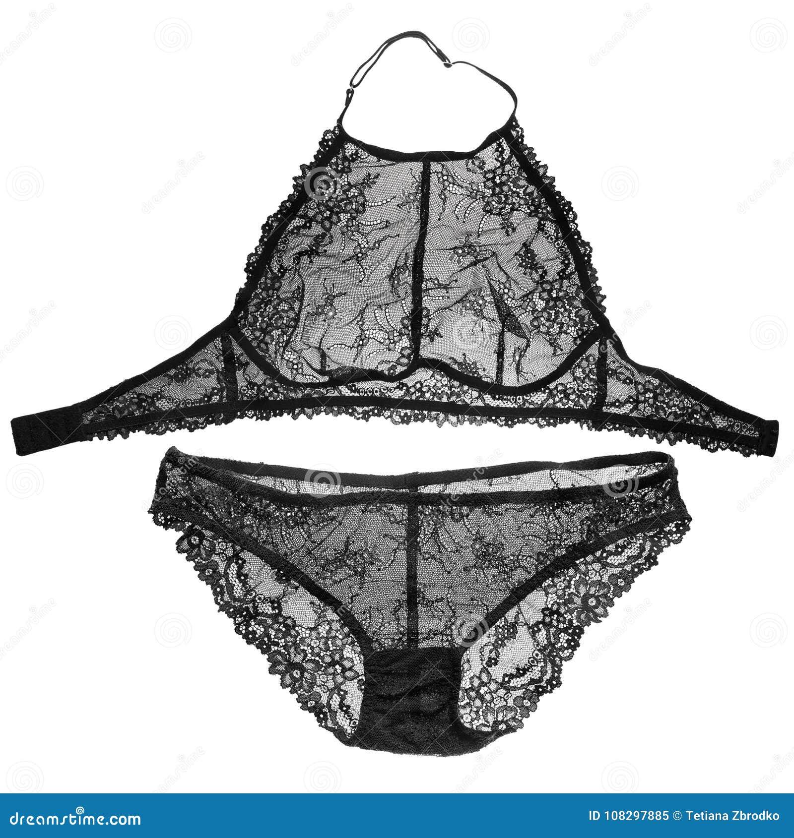 Ensemble de dentelle de lingerie