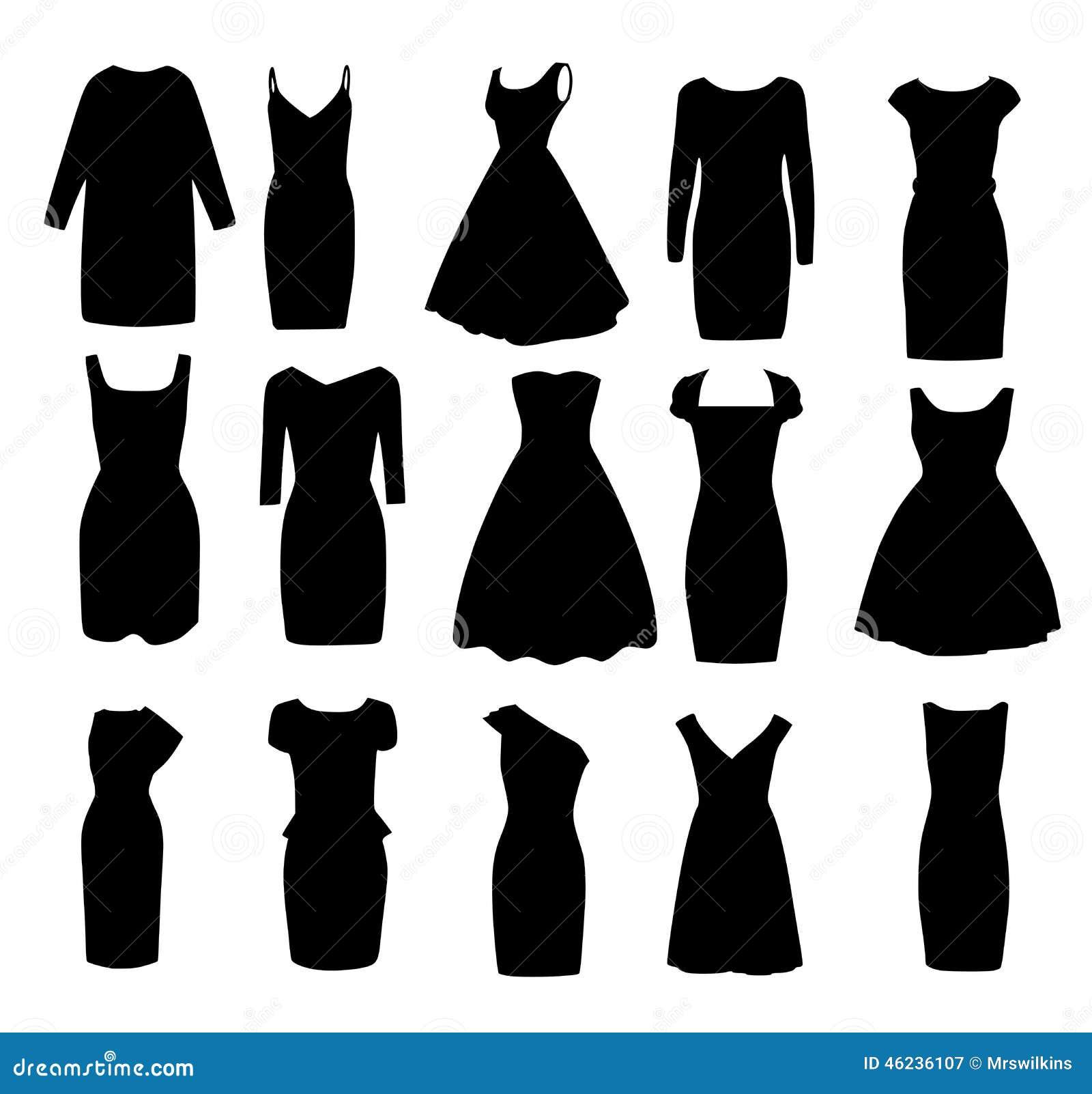 2b2c7143498 Placez formes noires d oif les différentes des robes de cocktail de boule  de soirée