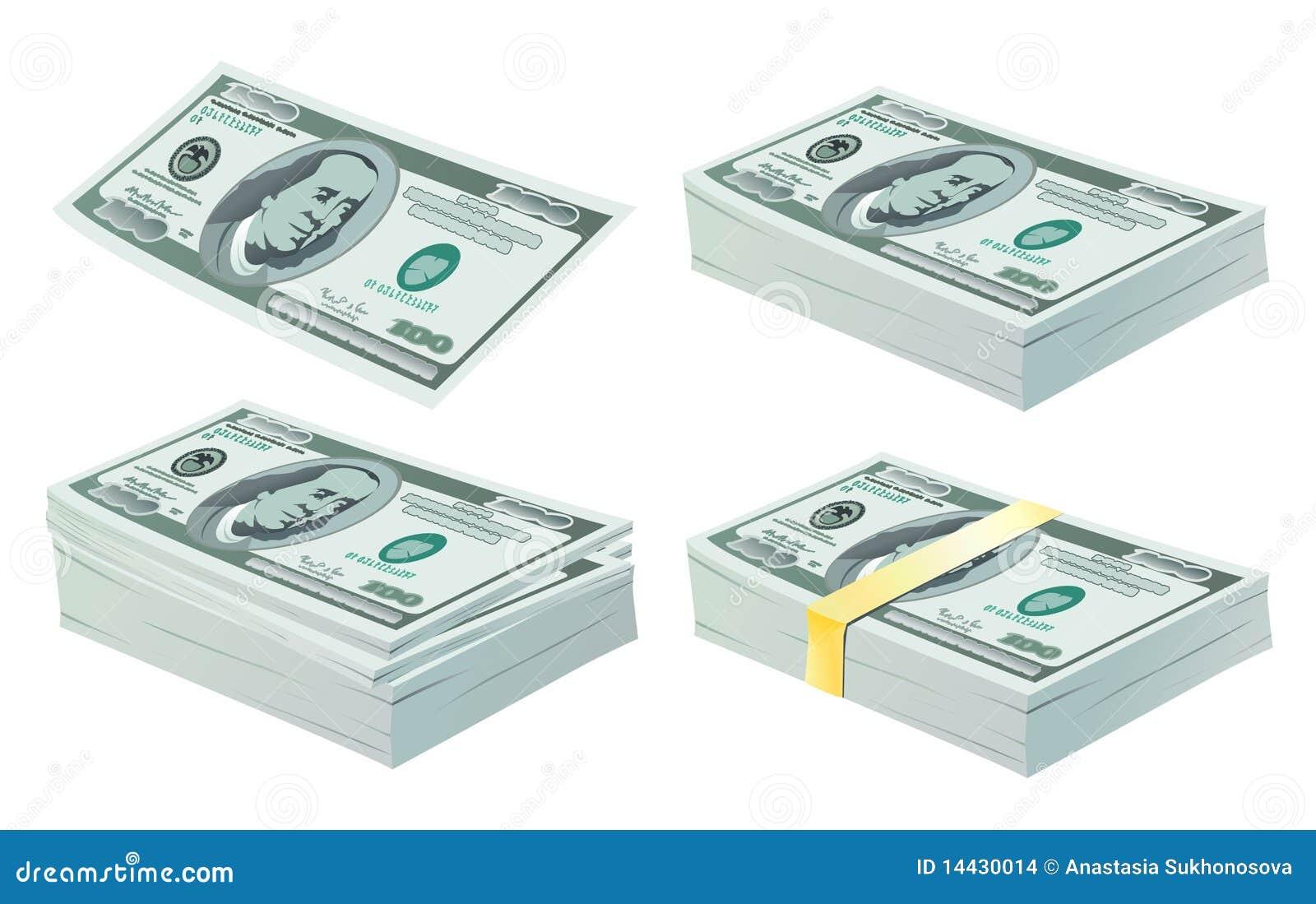 Ensemble de dollars