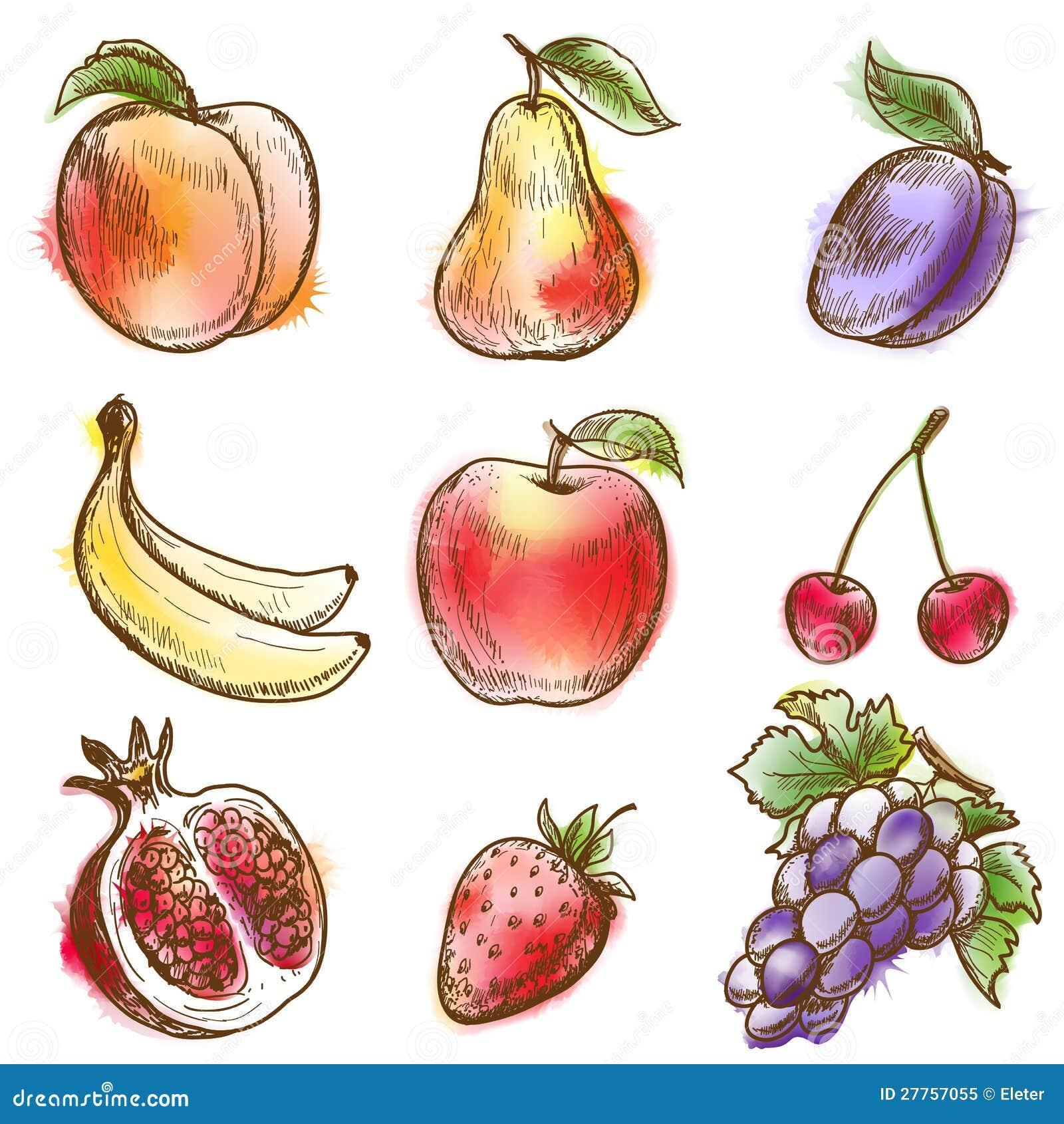 Ensemble de fruits