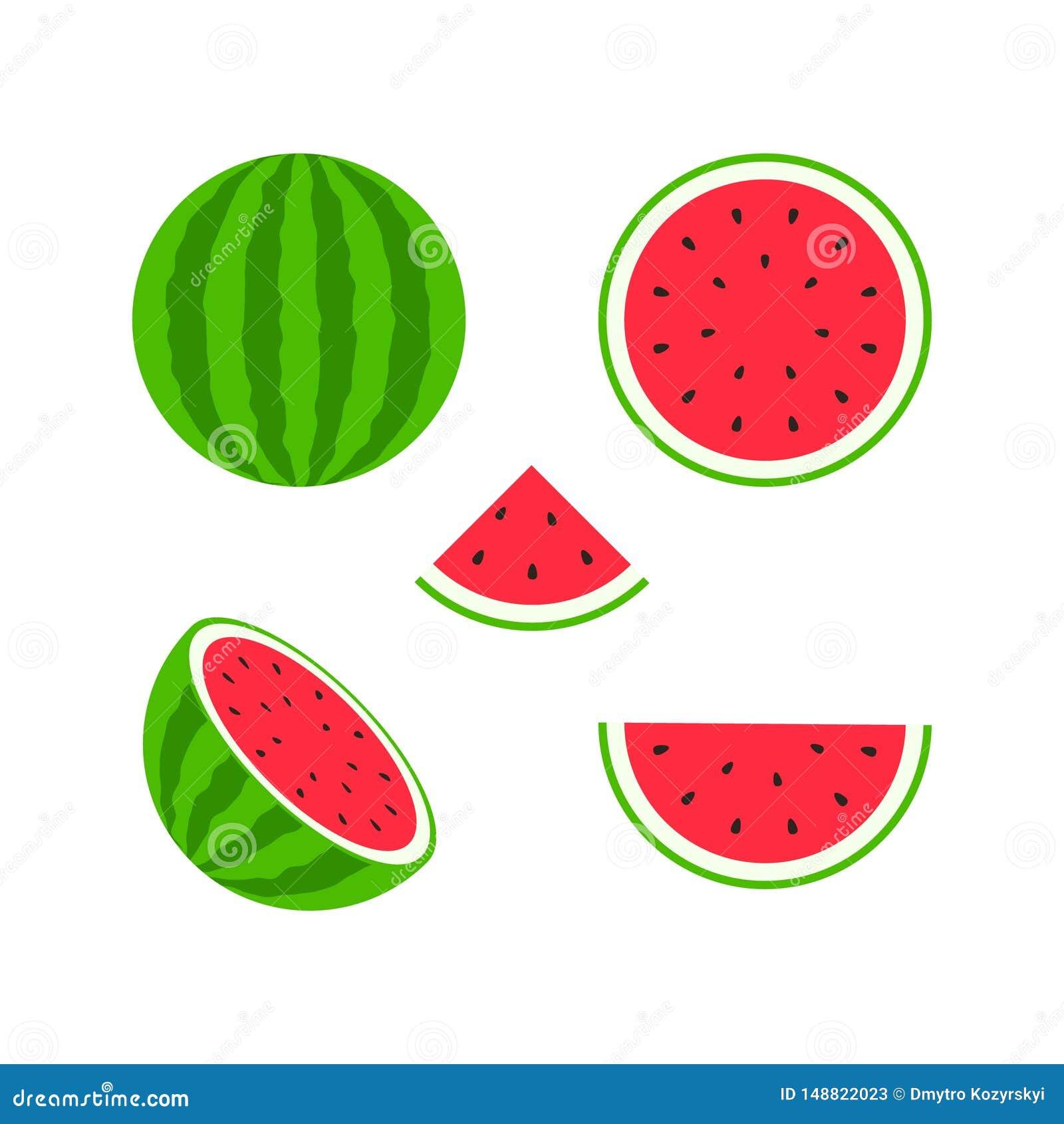 Ensemble de fruits et de baies Fruit d ?t? Pomme de fruit, poire, fraise, orange, pêche, prune, banane, pastèque, kiwi d ananas