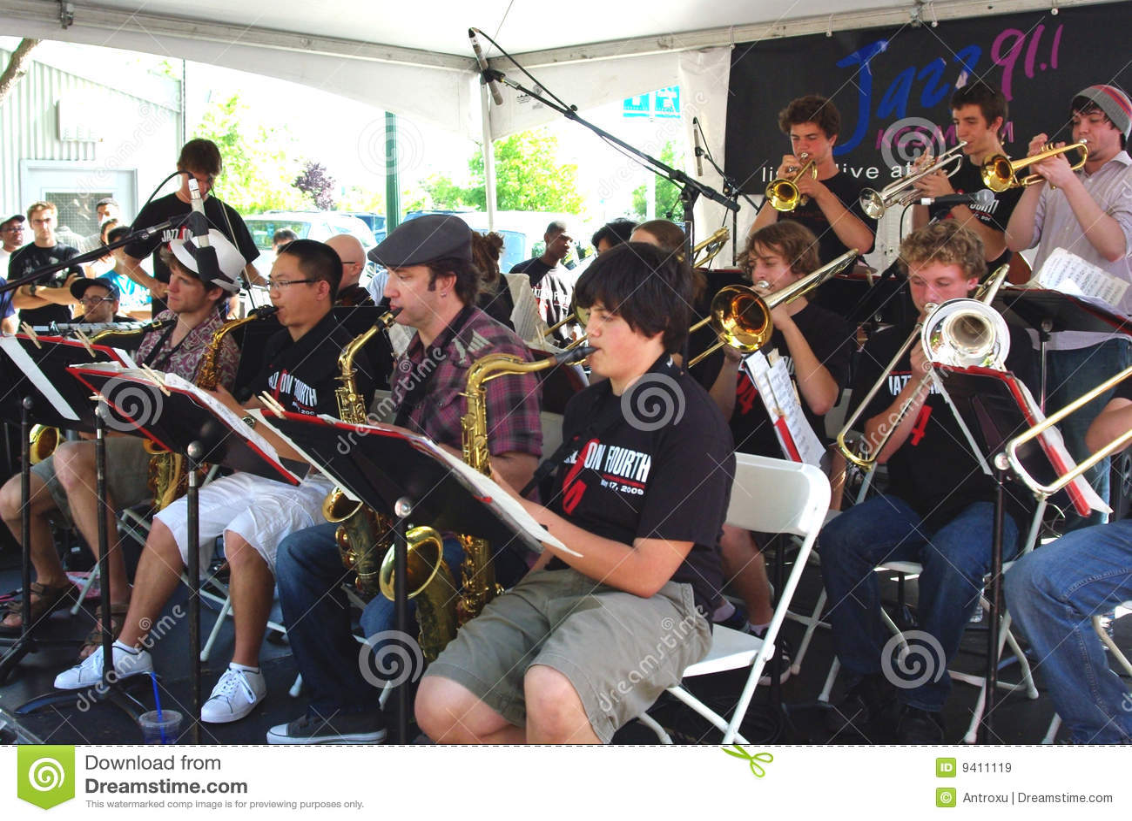 Ensemble de jazz de lycée de Berkeley
