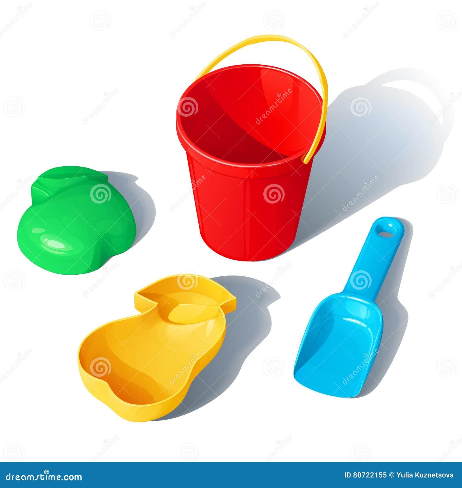Ensemble de jouets pour un bac à sable d enfants