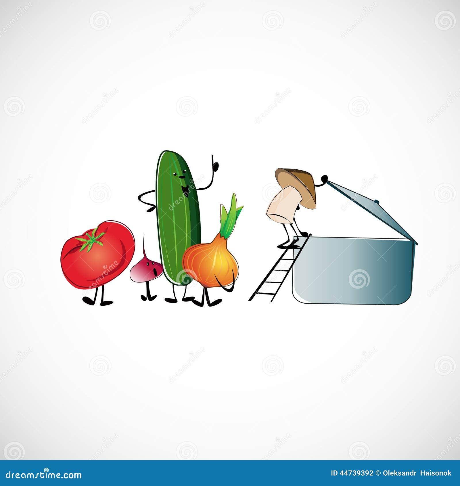 Ensemble de l gumes pour faire cuire la soupe conception de vecteur illustration de vecteur - Appareil pour faire la soupe ...