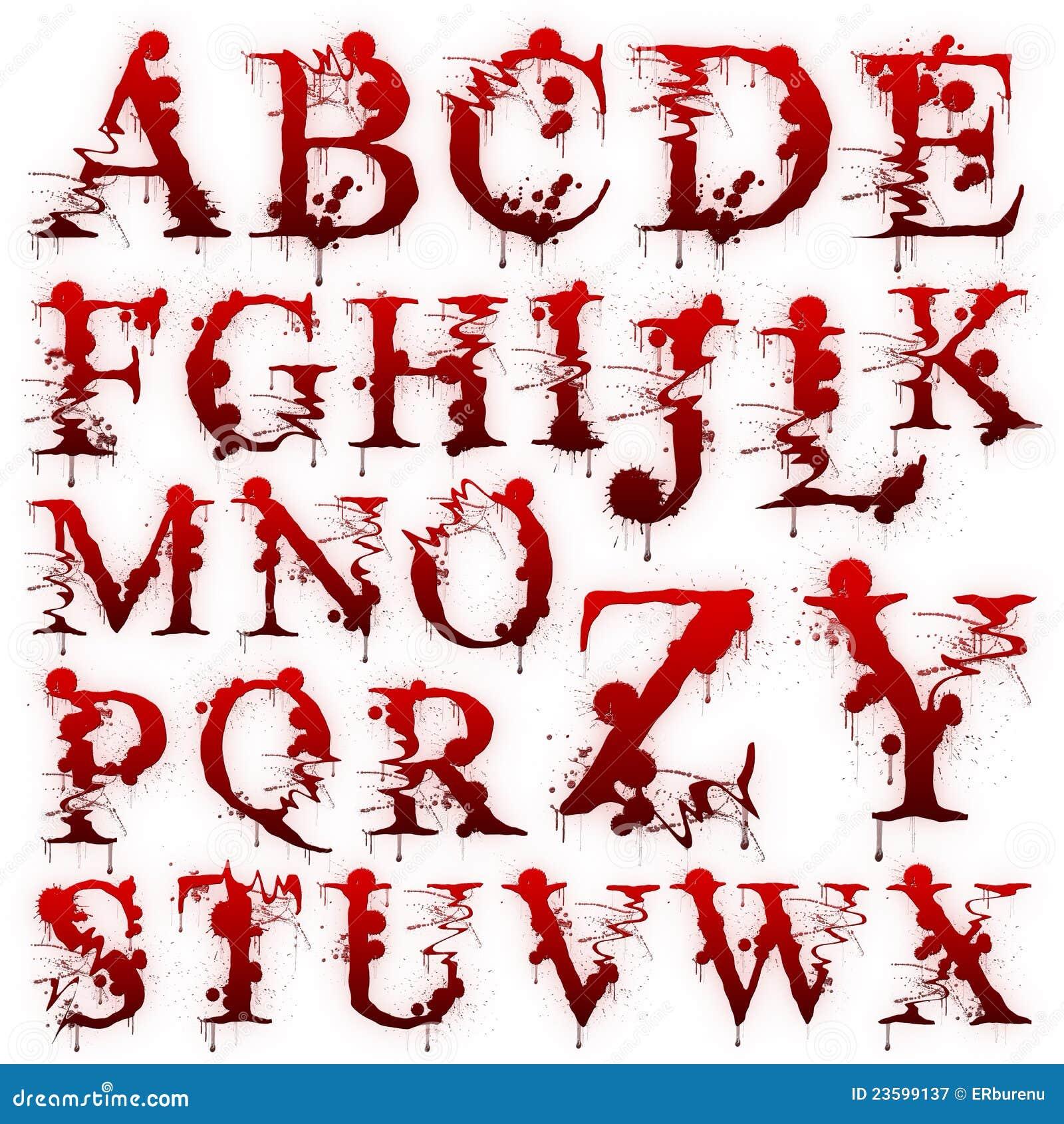 Как в фотошопе сделать кровавые буквы
