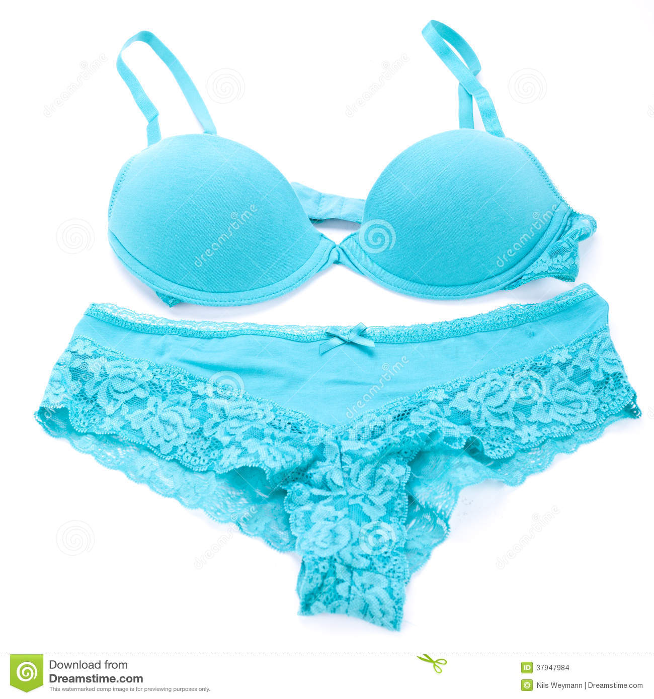 ensemble de lingerie sexy de bleu de turquoise images stock image 37947984. Black Bedroom Furniture Sets. Home Design Ideas