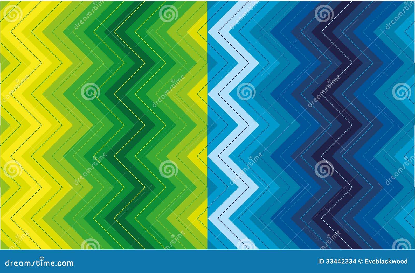 Ensemble de modèles de zigzag