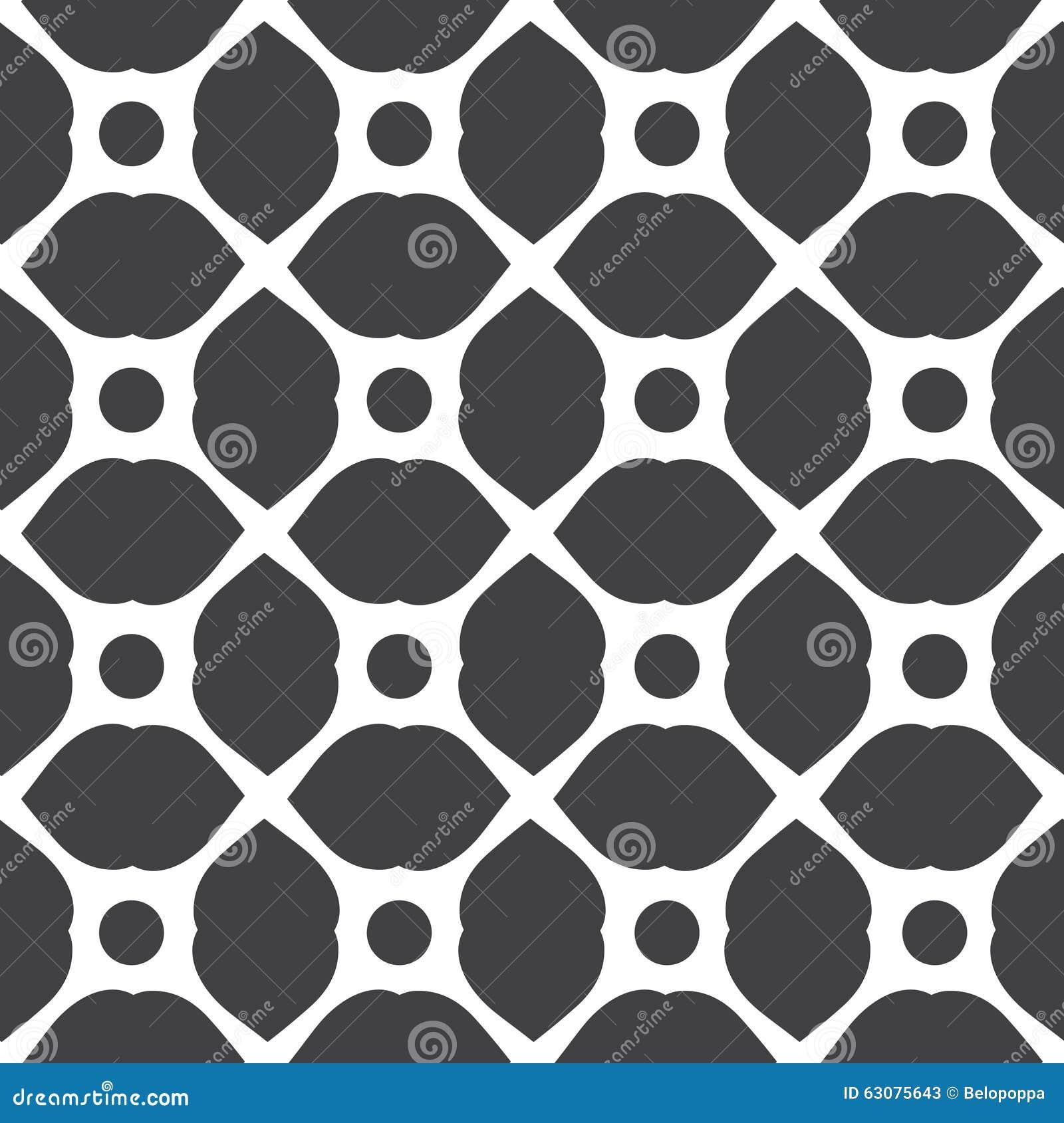 Download Ensemble De Modèles Universels Sans Couture Géométriques Monochromes, Couvrant De Tuiles Illustration de Vecteur - Illustration du gris, grille: 63075643