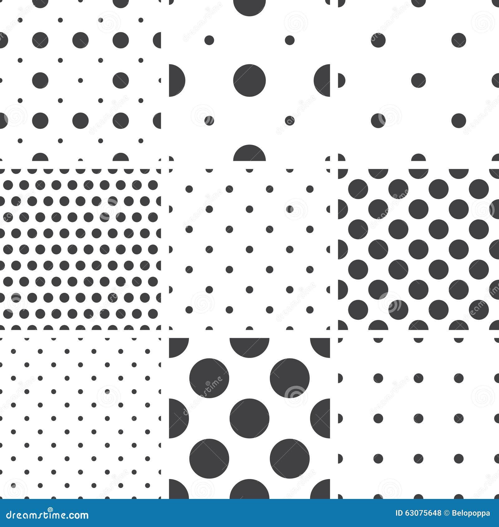 Download Ensemble De Modèles Universels Sans Couture Géométriques Monochromes, Couvrant De Tuiles Illustration de Vecteur - Illustration du repeatable, impression: 63075648
