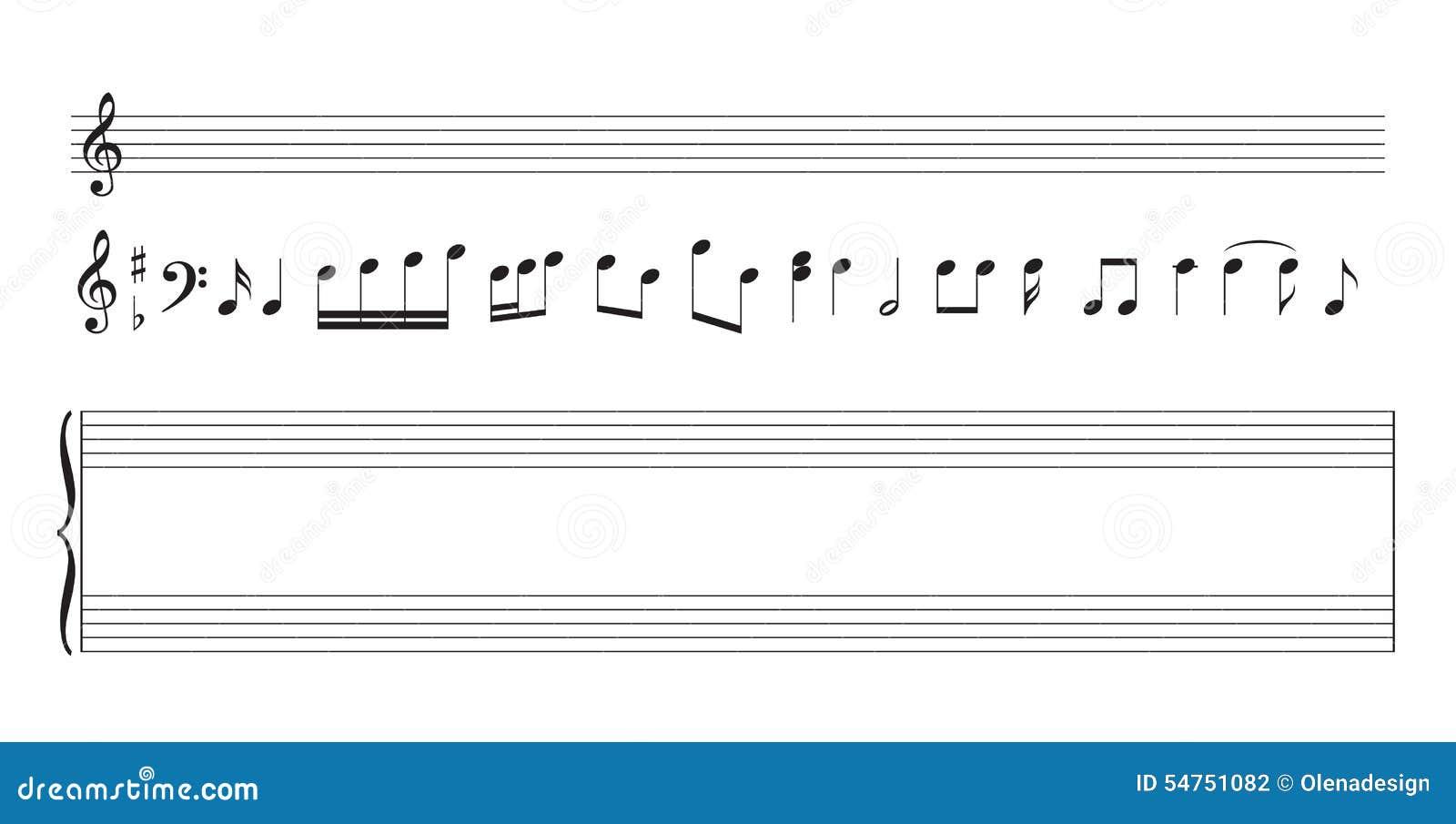 Note Modele De Personnel De Musique Pour L Impression