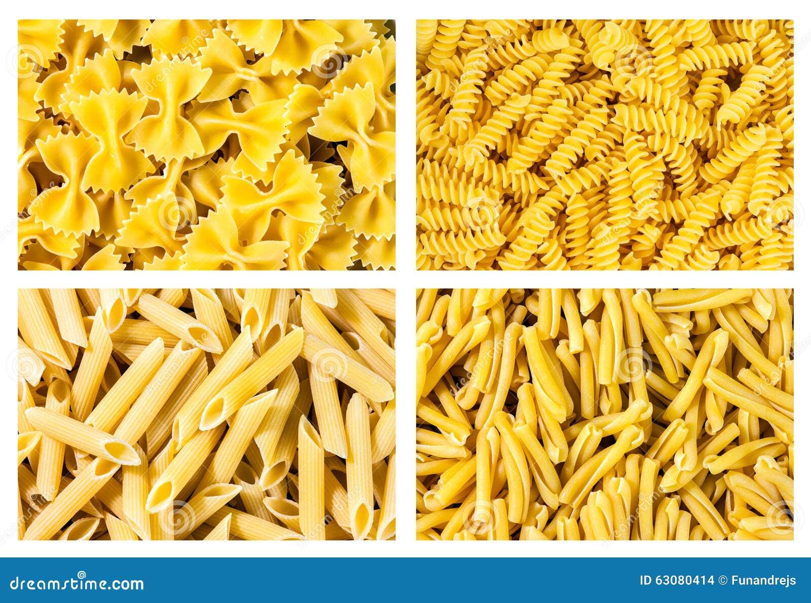 Download Ensemble De Pâtes Italiennes De Collection, Texture De Fond Photo stock - Image du isolement, italie: 63080414