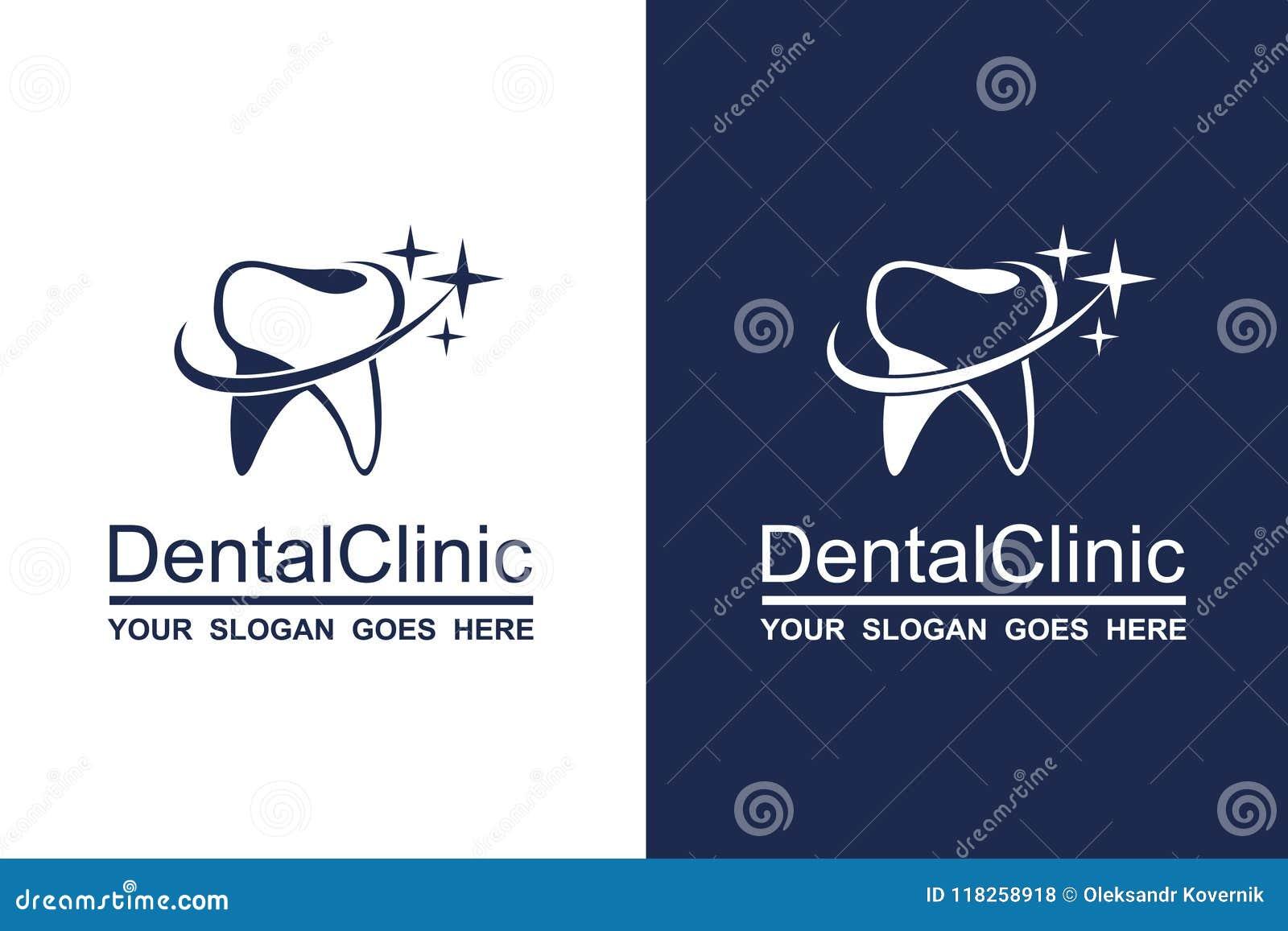 Ensemble dentaire d icône