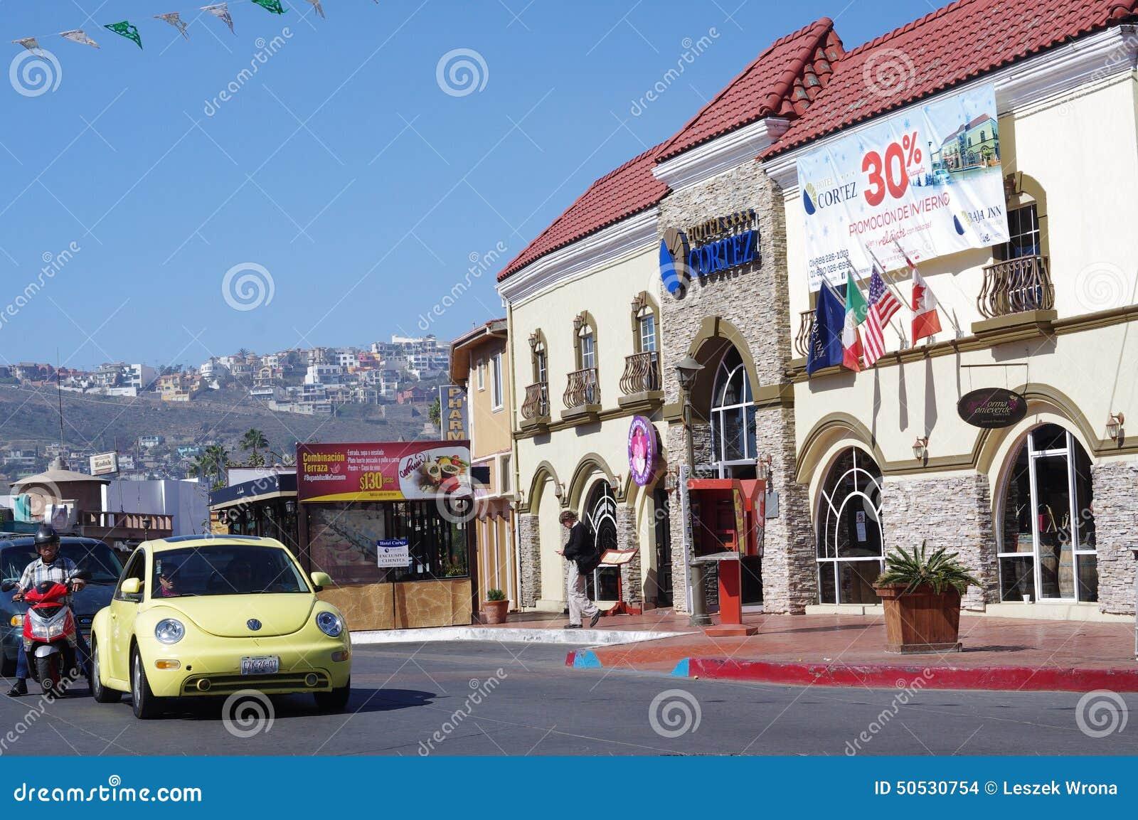 Ensenada Coastal City In Mexico Editorial Stock Image